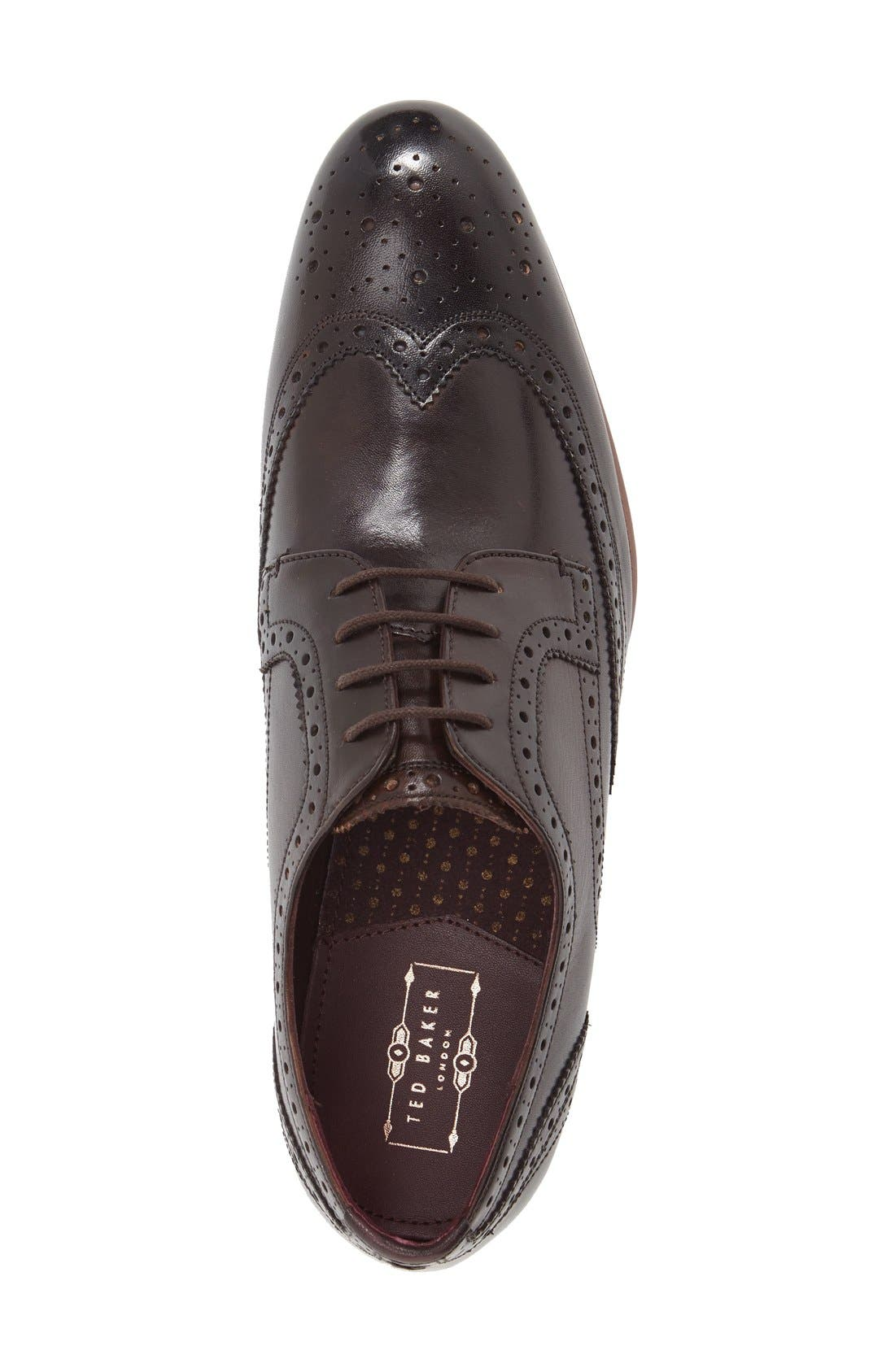 'Gryene' Wingtip Oxford,                             Alternate thumbnail 10, color,