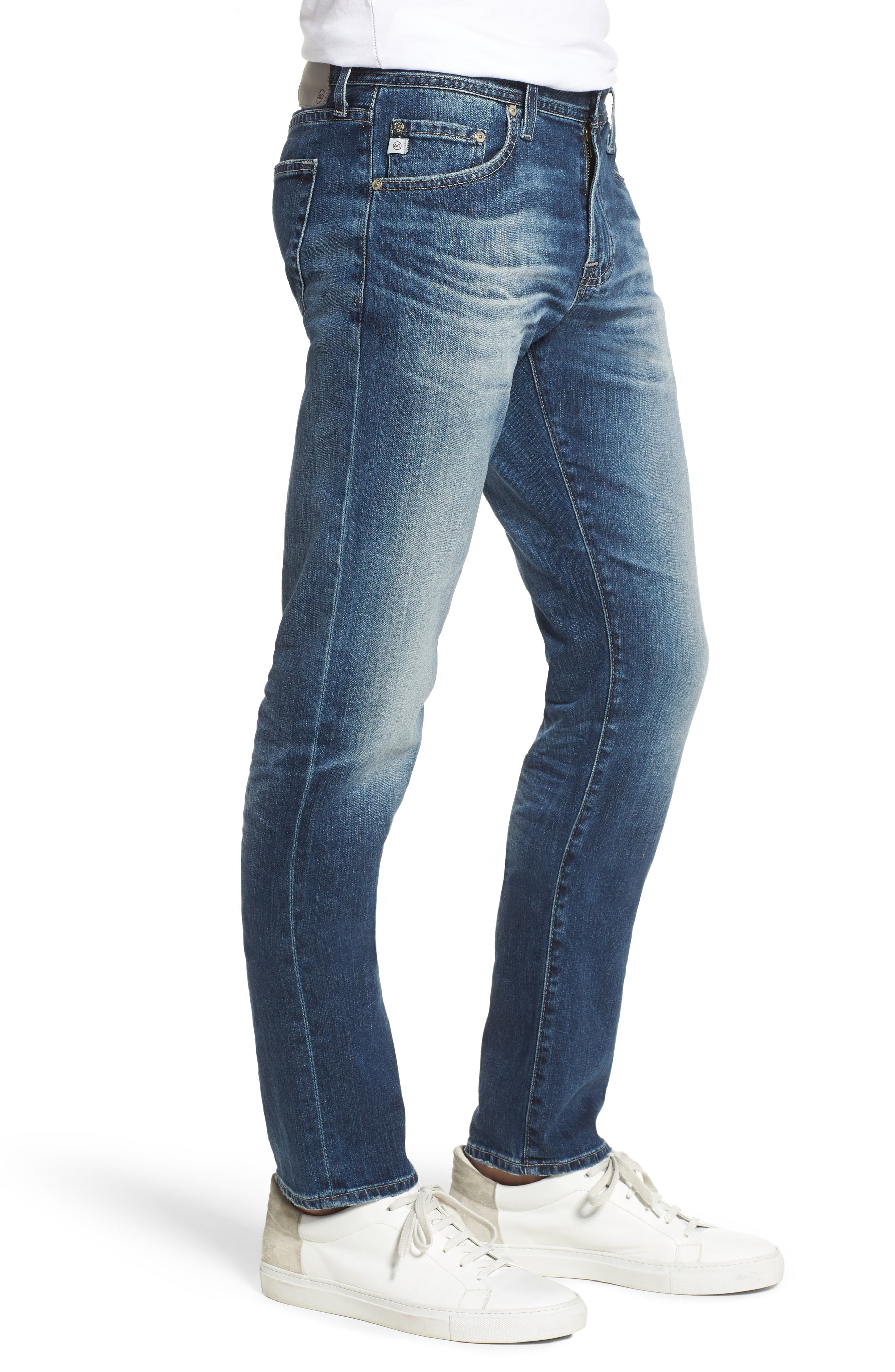 AG,                             Tellis Slim Fit Jeans,                             Alternate thumbnail 3, color,                             417