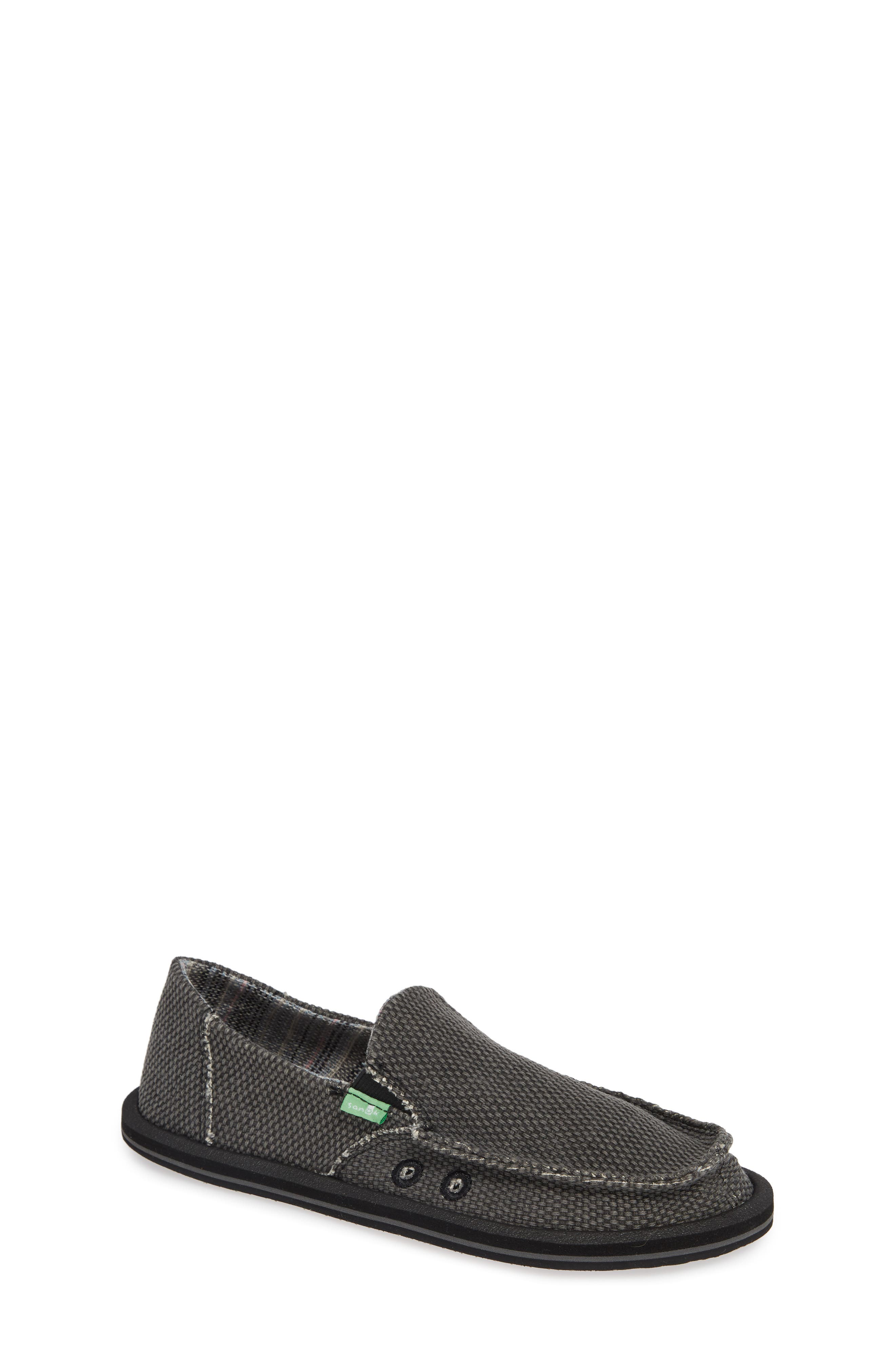Slip-On,                             Main thumbnail 1, color,                             BLACK/ BLACK