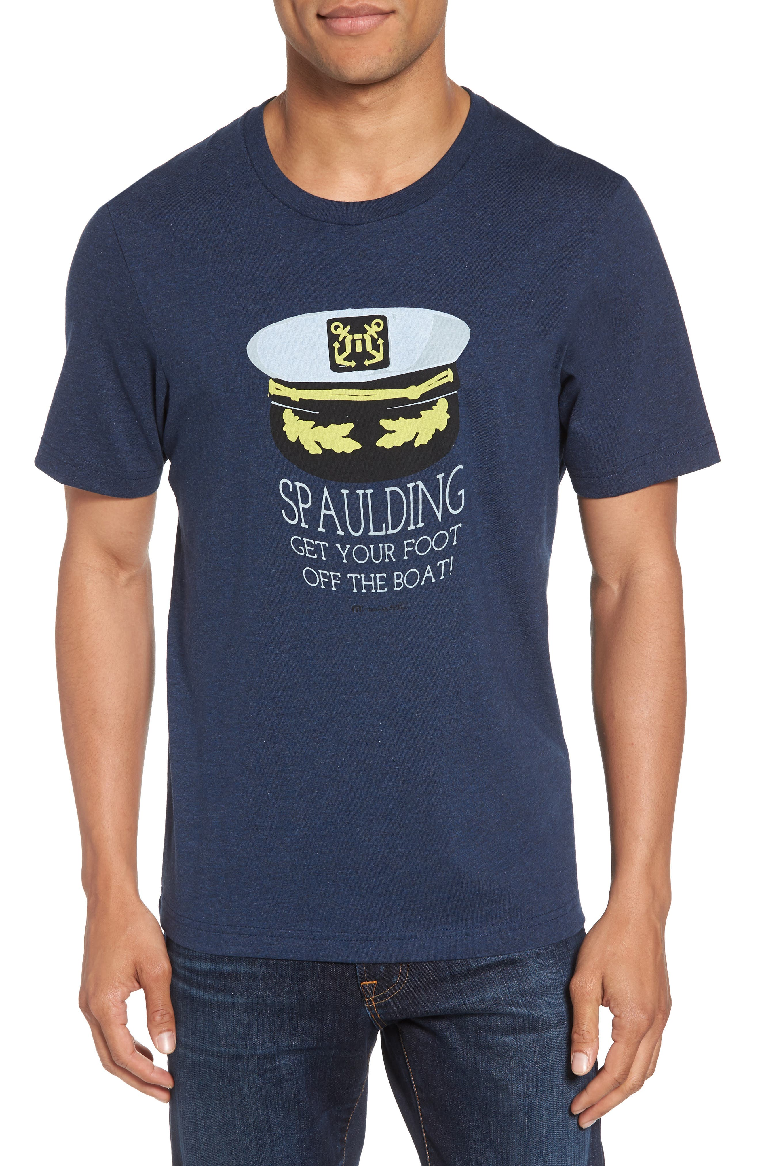 'Spaulding' Graphic T-Shirt,                             Main thumbnail 4, color,
