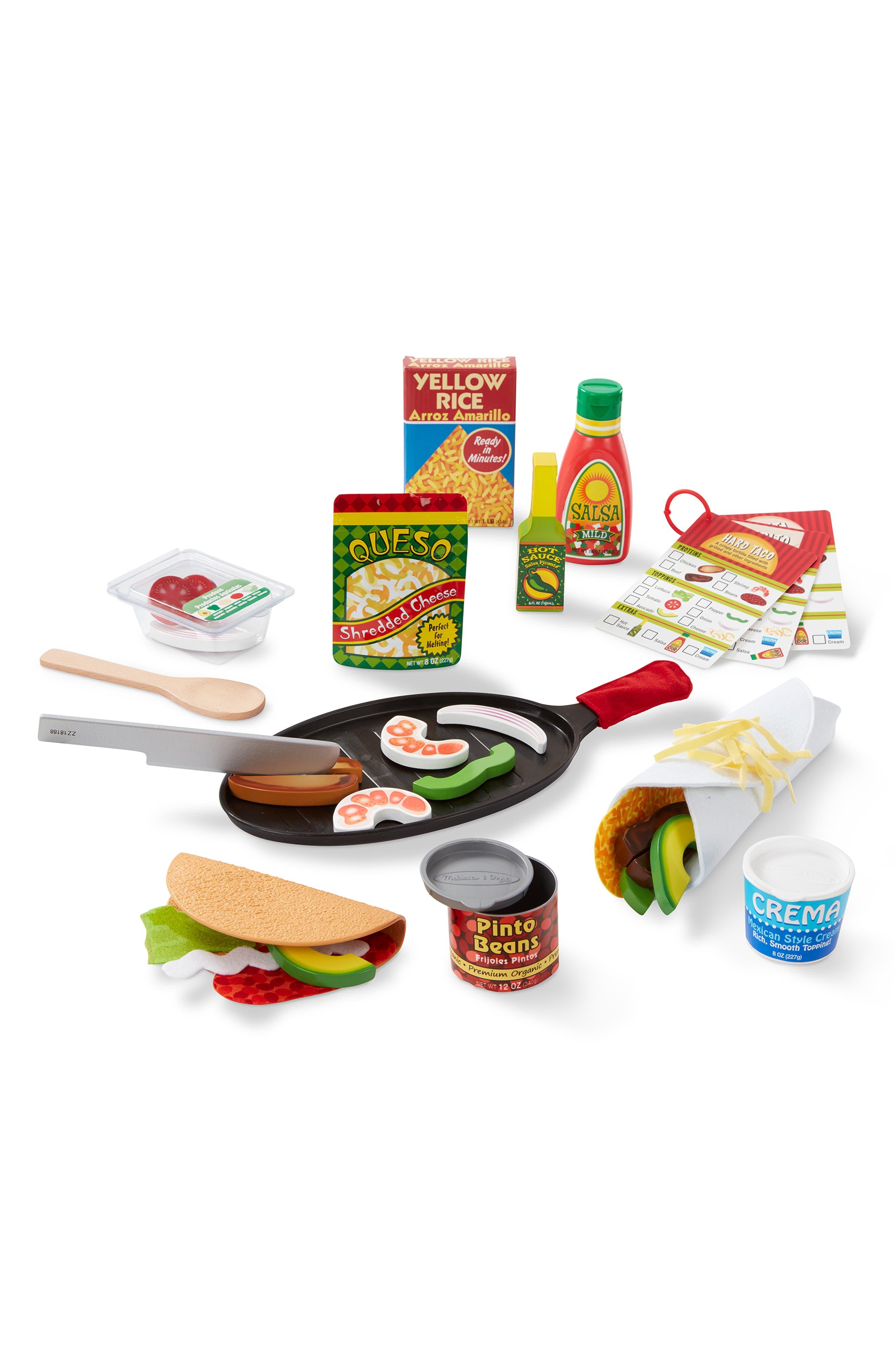 MELISSA & DOUG,                             Fill & Fold Taco & Tortilla Set,                             Alternate thumbnail 3, color,                             960