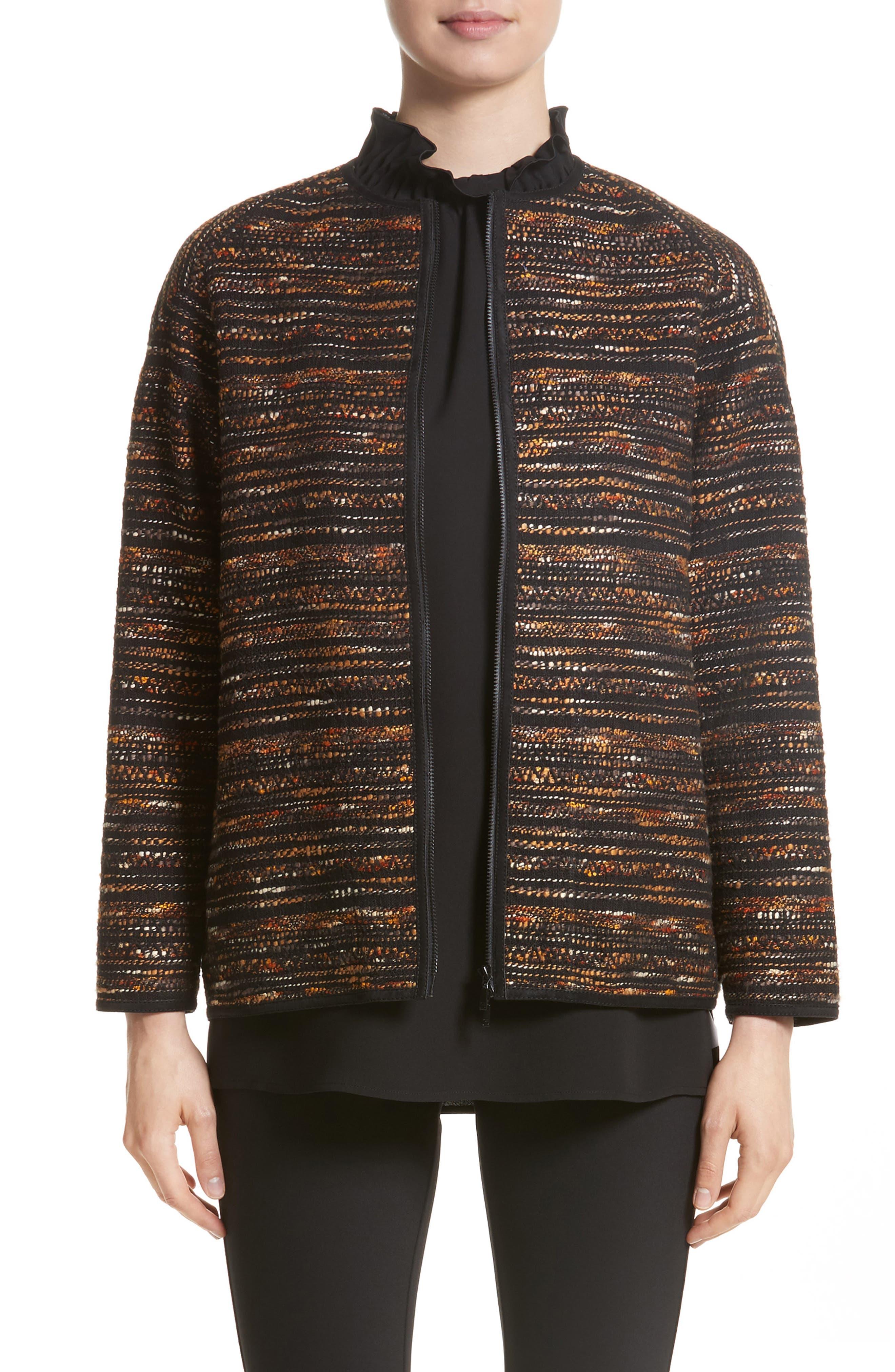 Alexa Tweed Jacket,                             Main thumbnail 1, color,