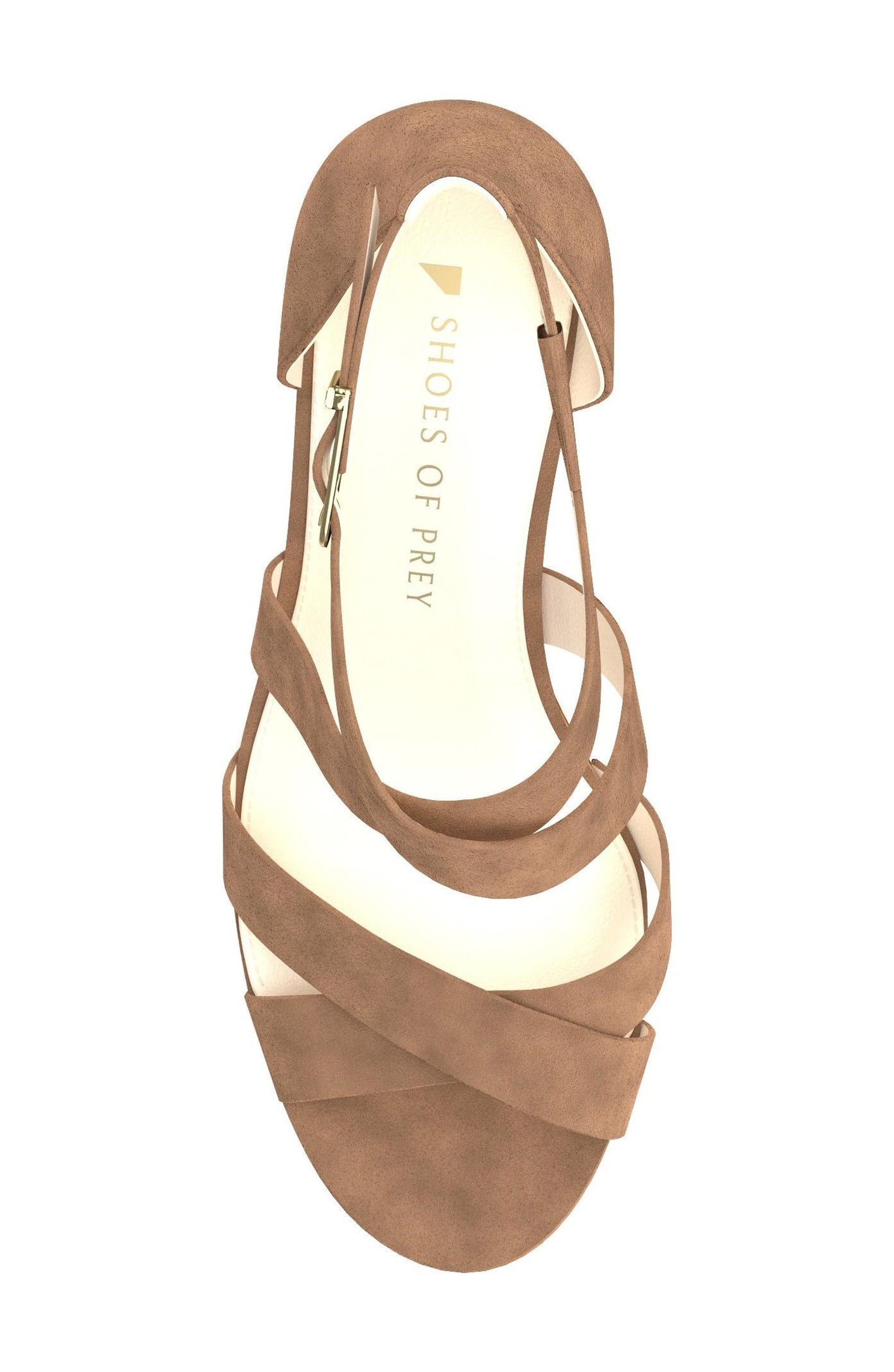 Crisscross Strappy Sandal,                             Alternate thumbnail 12, color,