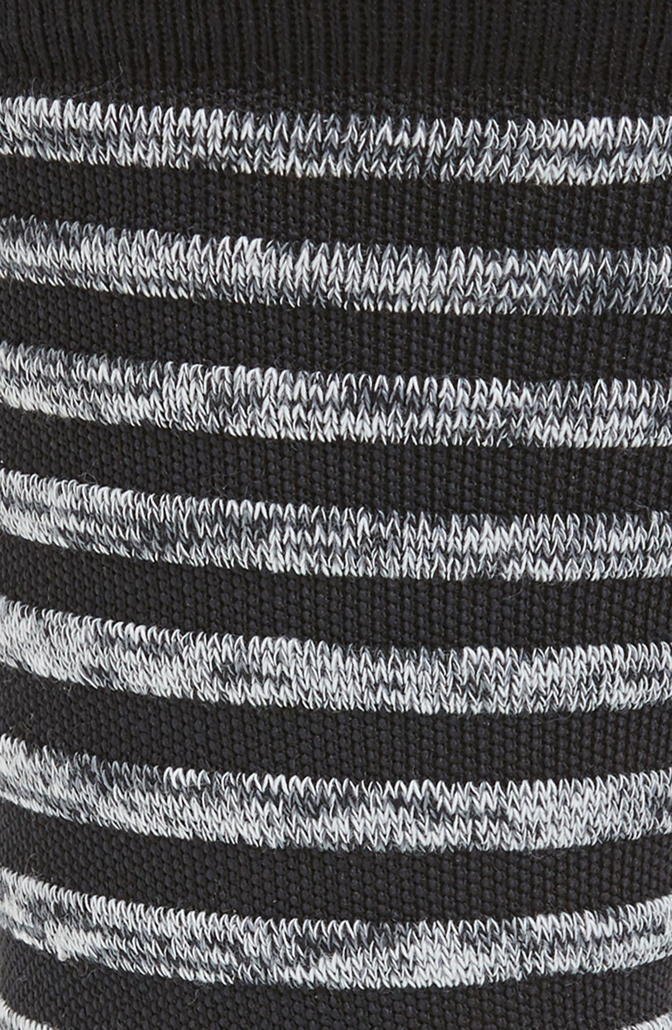 Tech Stripe Socks,                             Alternate thumbnail 2, color,                             010
