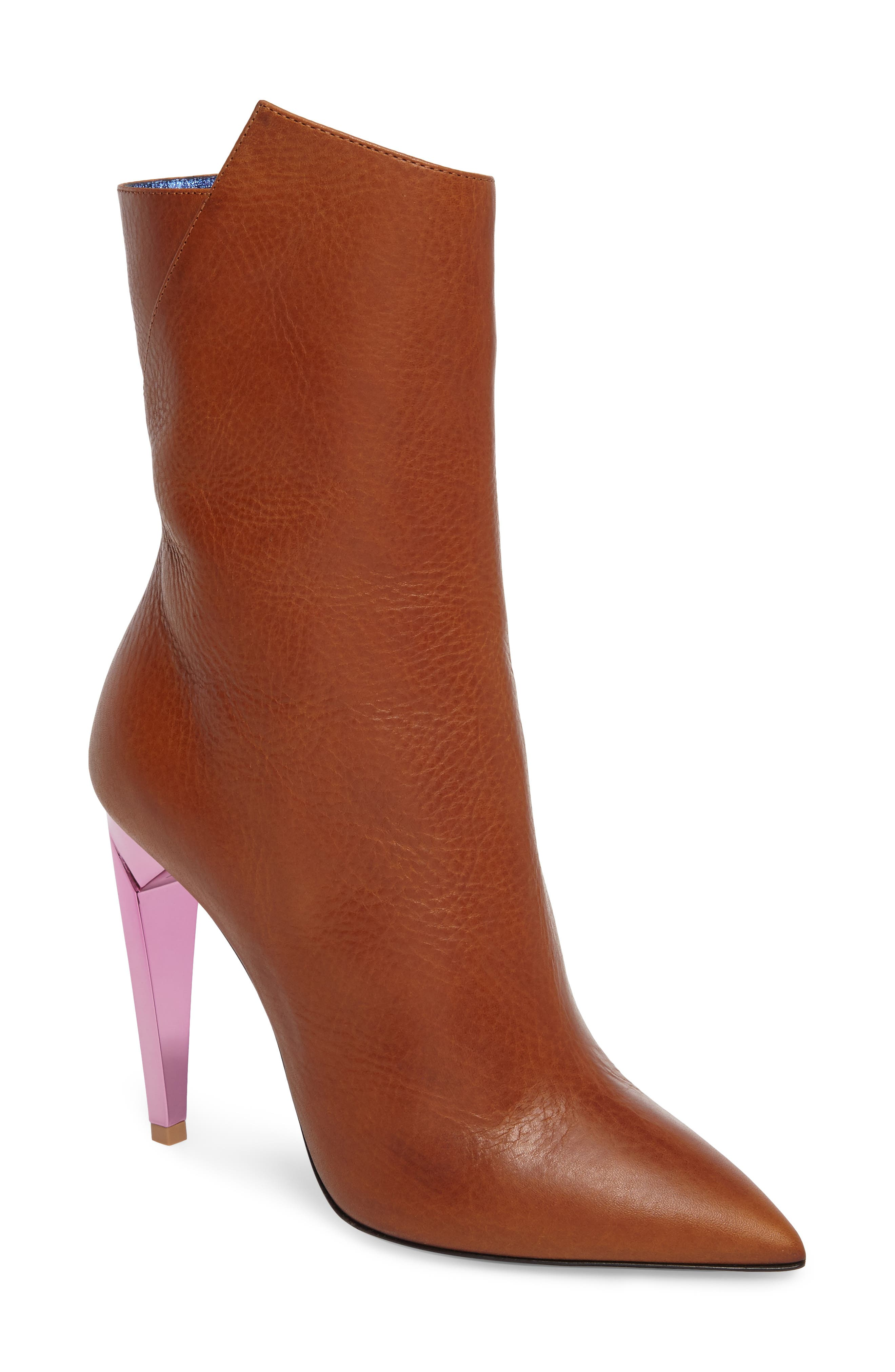 Preja Pointy Toe Bootie,                             Main thumbnail 1, color,                             200