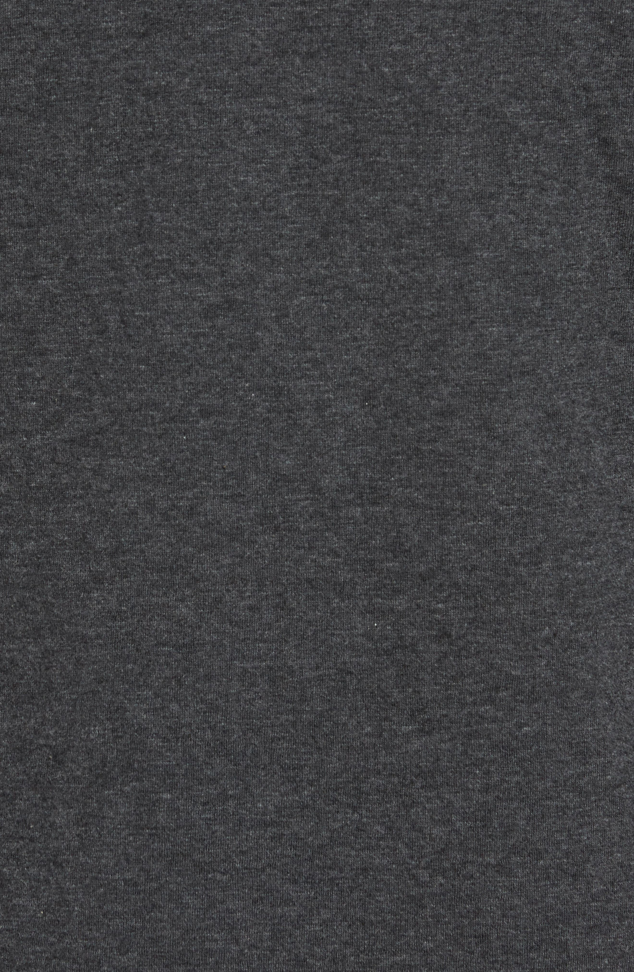 Mitch Reversible Slubbed Quarter Snap Pullover,                             Alternate thumbnail 5, color,                             004