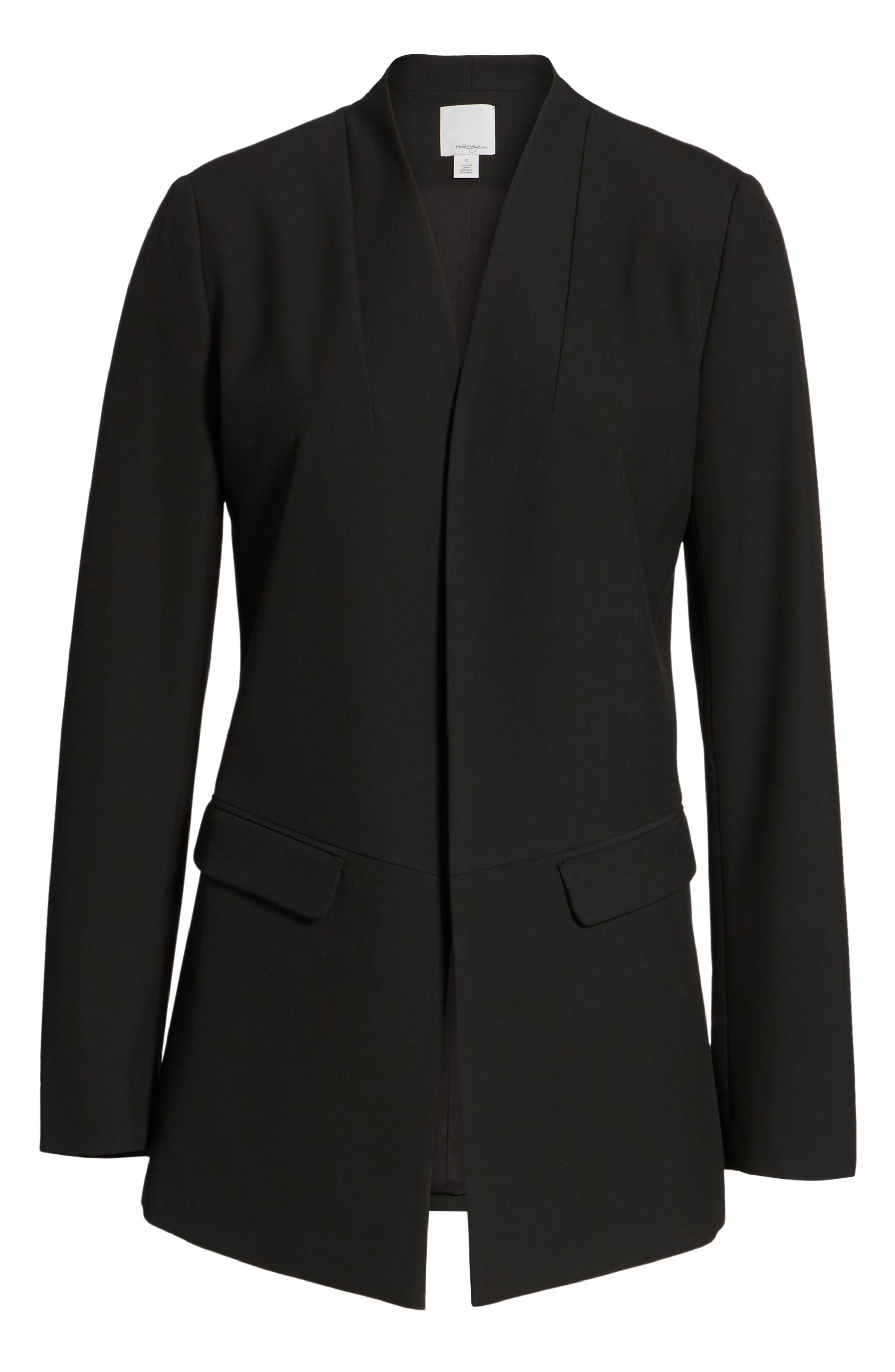 No-Closure Blazer,                             Alternate thumbnail 5, color,                             001