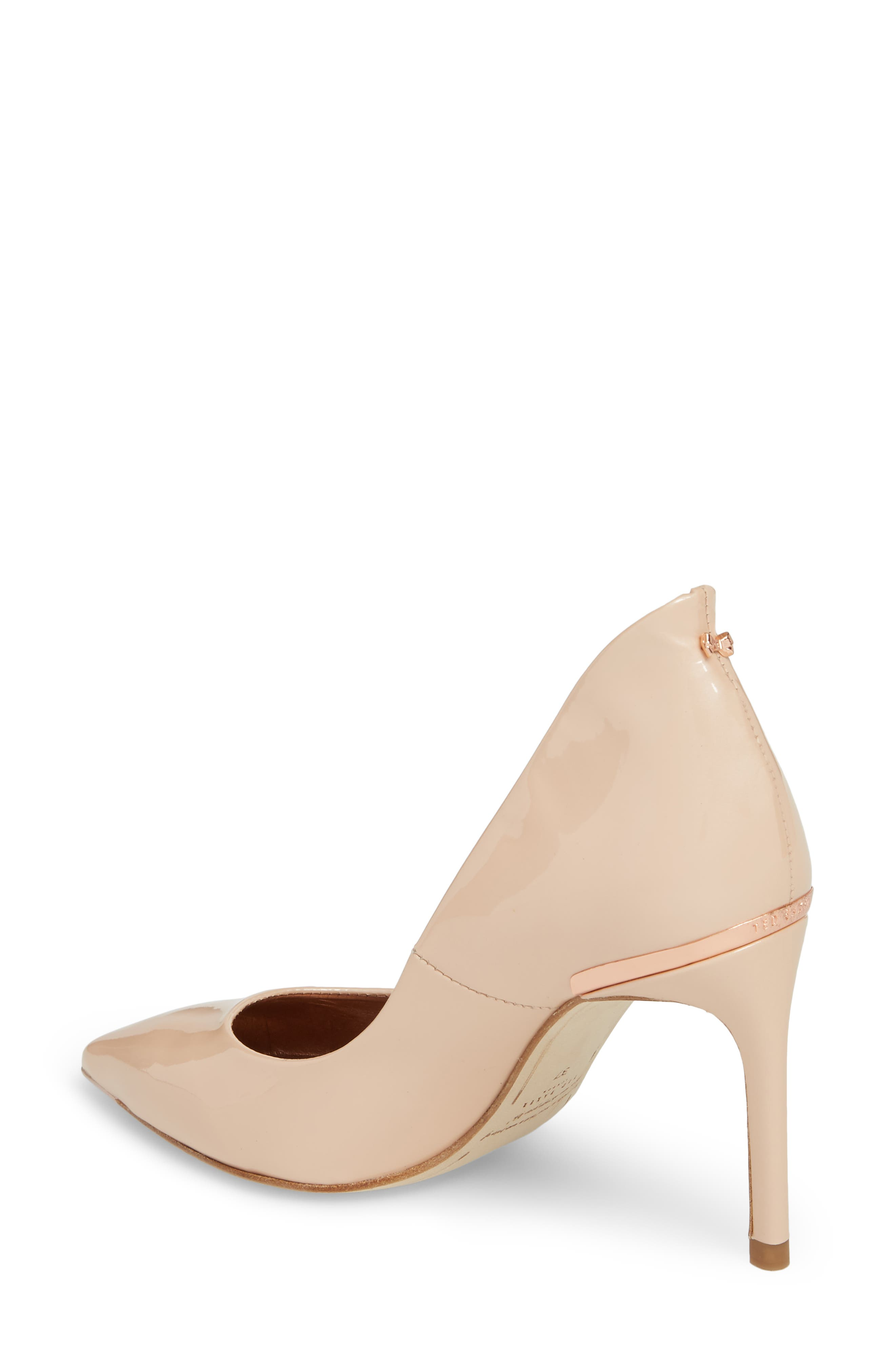 Savio Pump,                             Alternate thumbnail 2, color,                             NUDE PATENT LEATHER