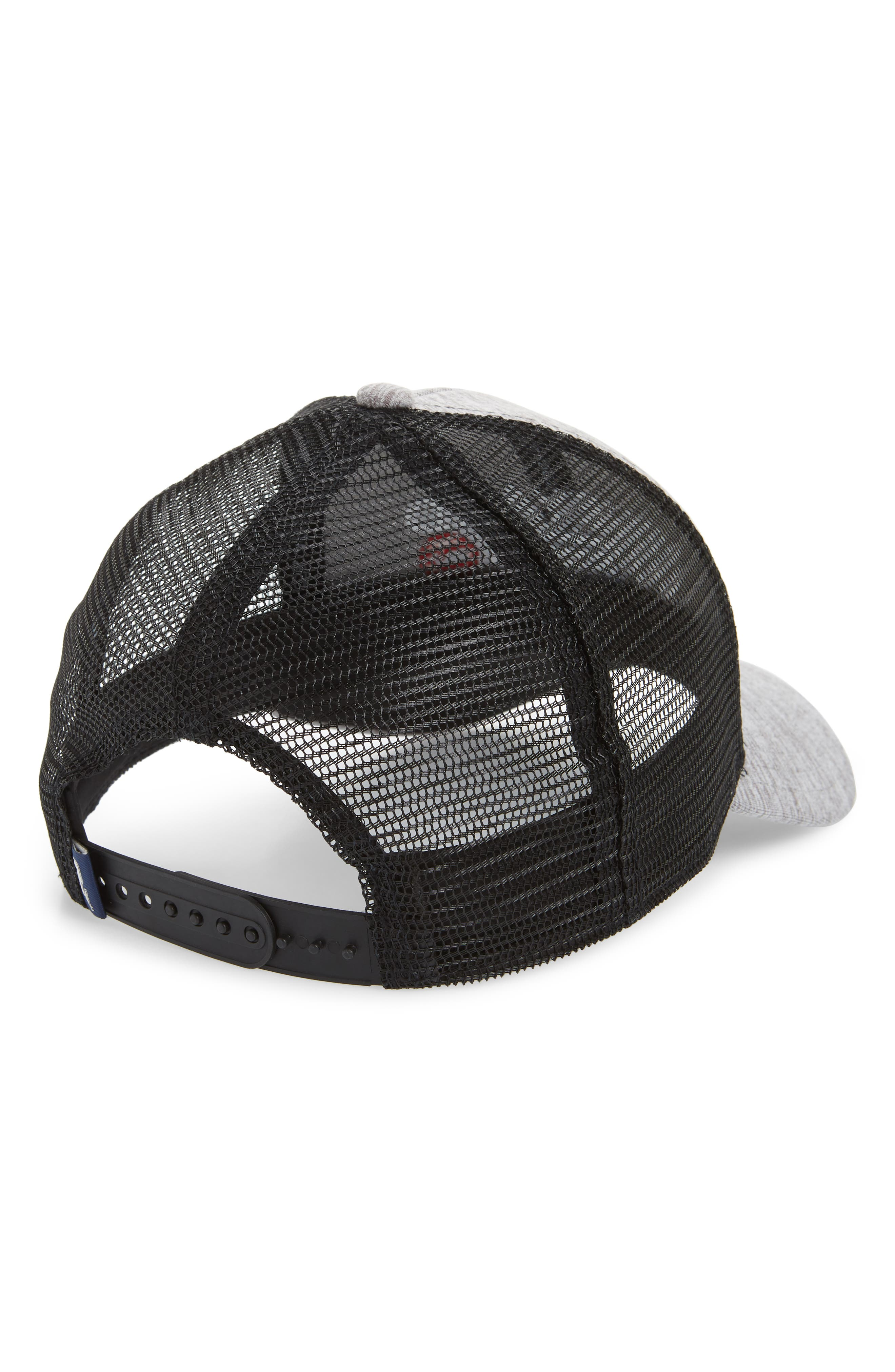 Performance Space Dyed Trucker Hat,                             Alternate thumbnail 2, color,                             039
