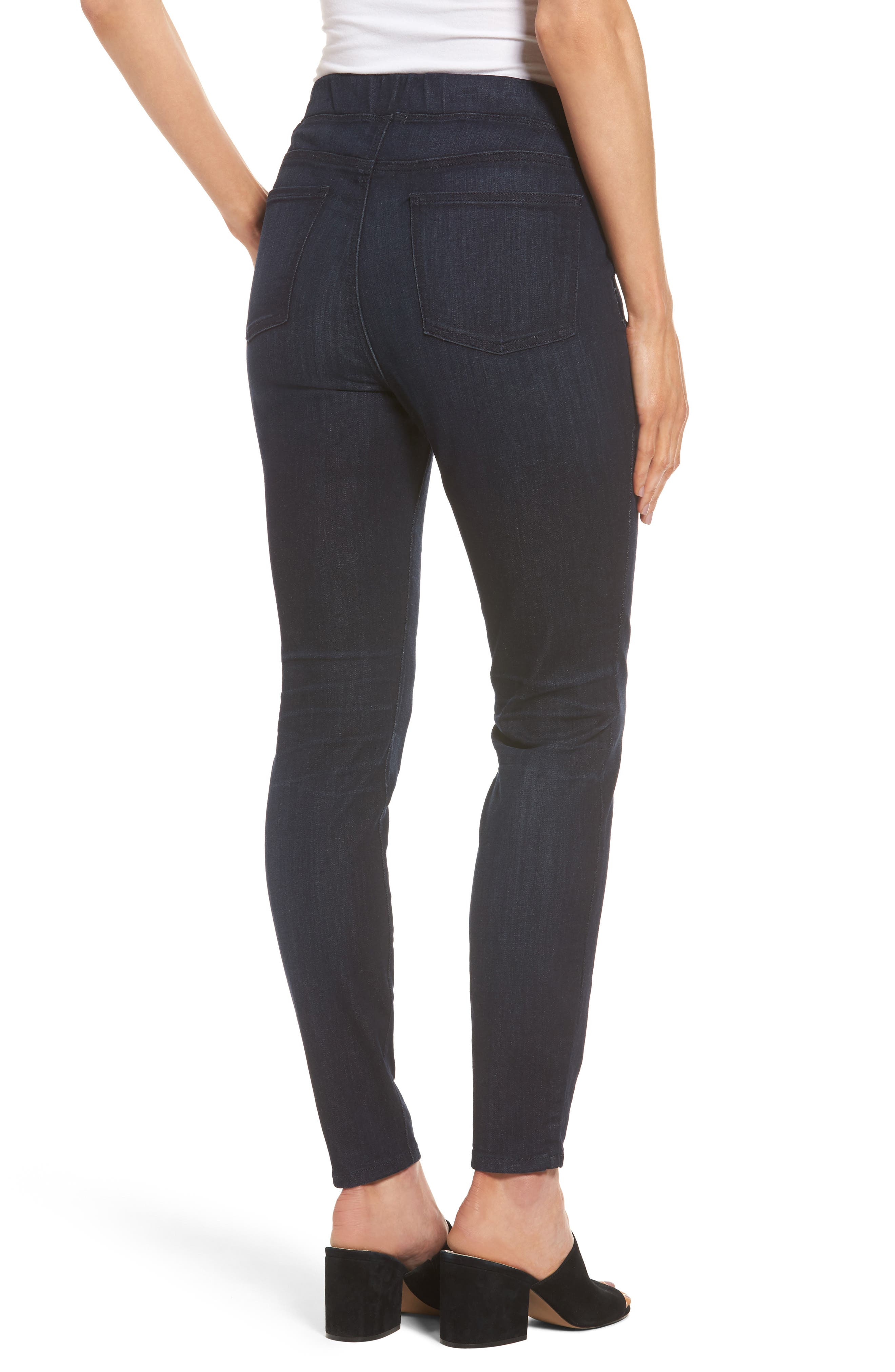 Denim Leggings,                             Alternate thumbnail 2, color,                             UTILITY BLUE