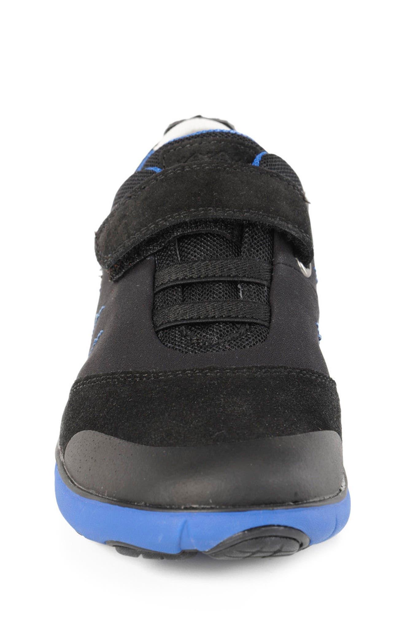 GEOX,                             Nebula Low Top Sneaker,                             Alternate thumbnail 4, color,                             009