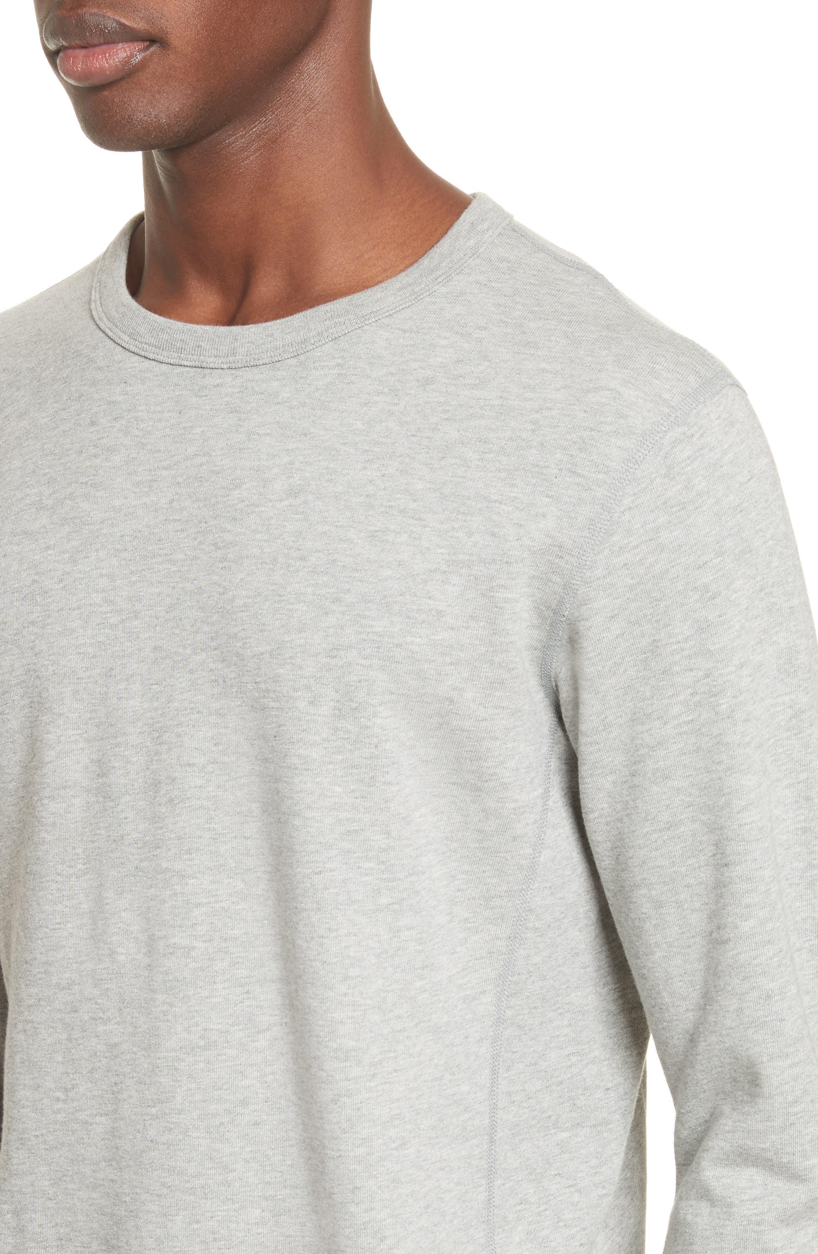 Crewneck Sweatshirt,                             Alternate thumbnail 4, color,                             060