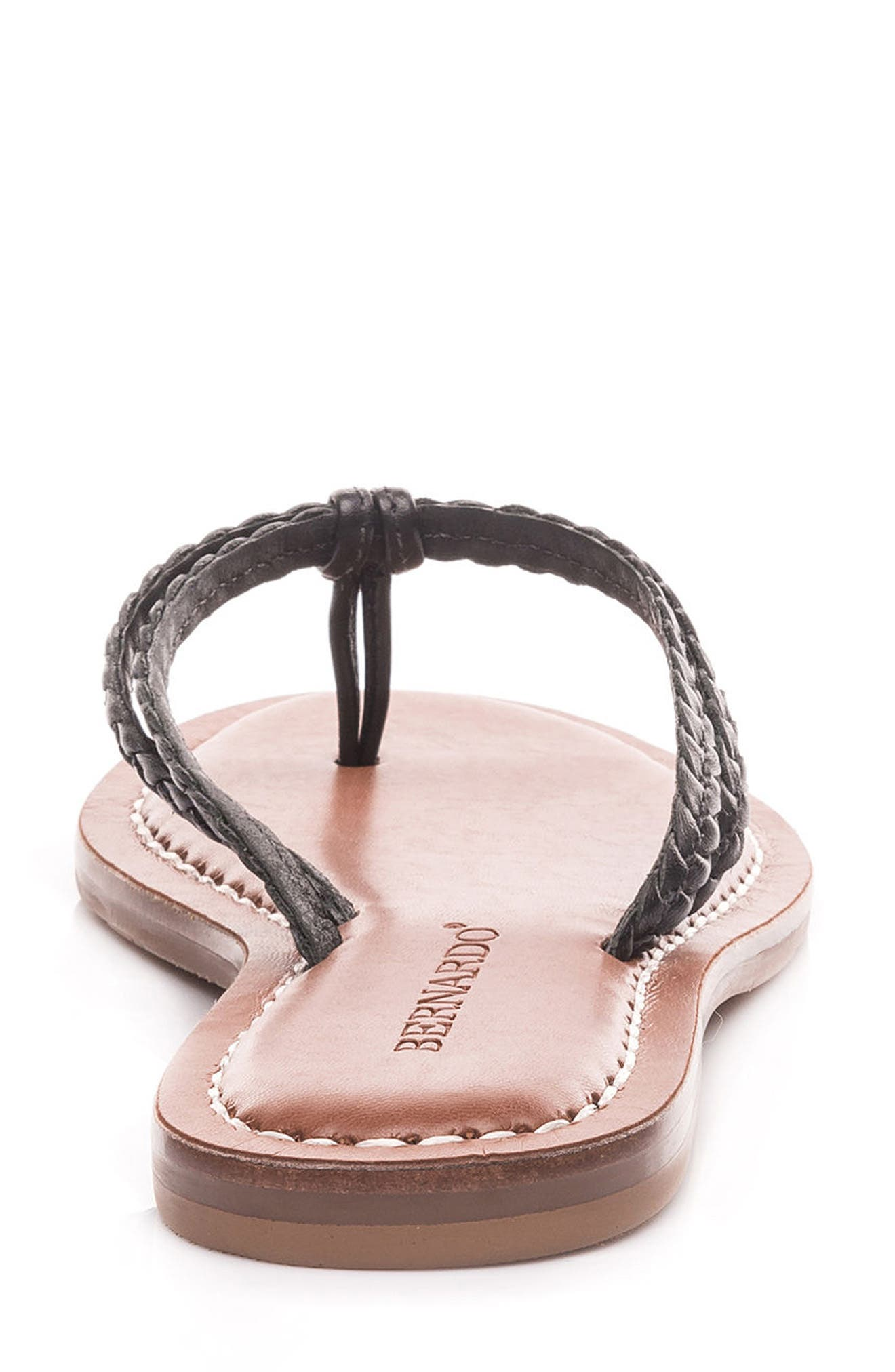 Bernardo Greta Braided Strap Sandal,                             Alternate thumbnail 43, color,
