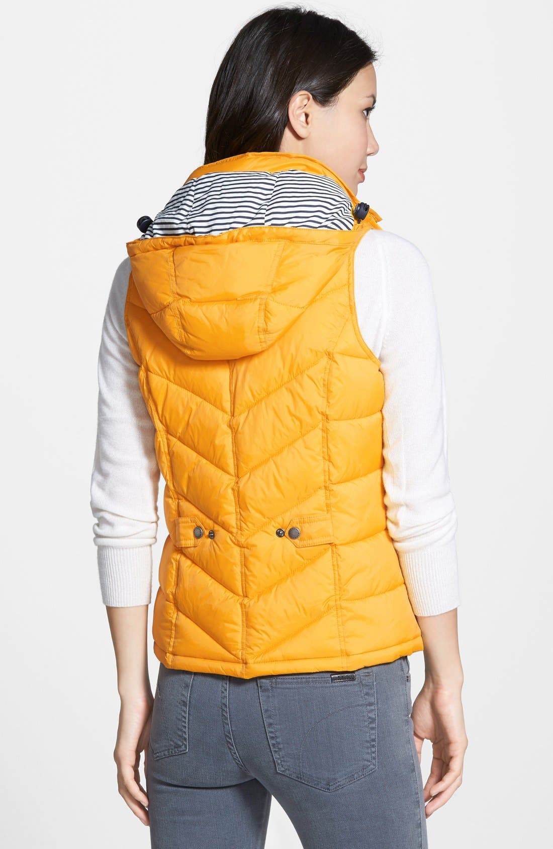 'Forland' Hooded Quilted Vest,                             Alternate thumbnail 4, color,                             700