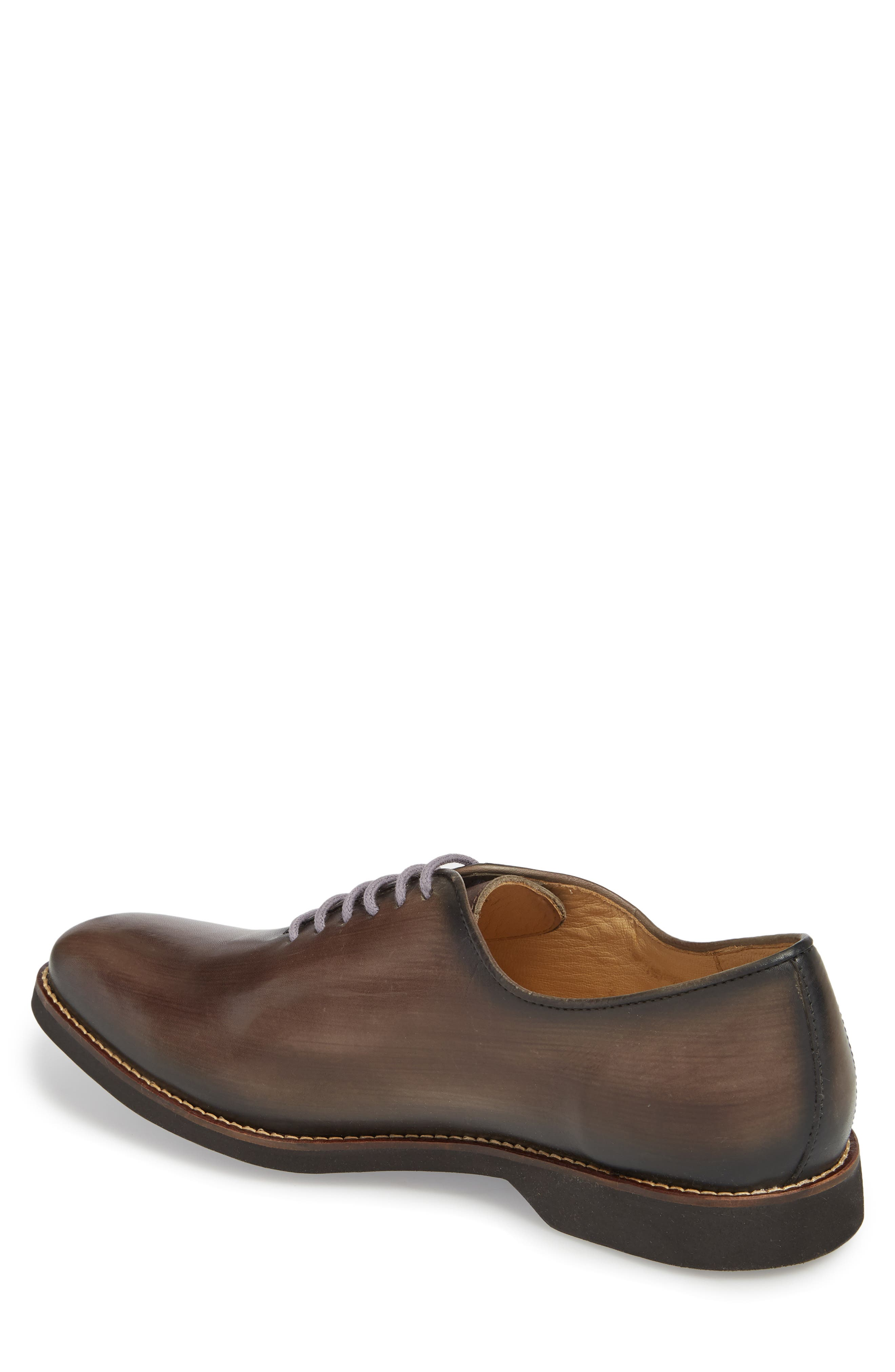 Sao Paulo II Whole Cut Shoe,                             Alternate thumbnail 2, color,                             TOUCH GREY BRUSHED LEATHER