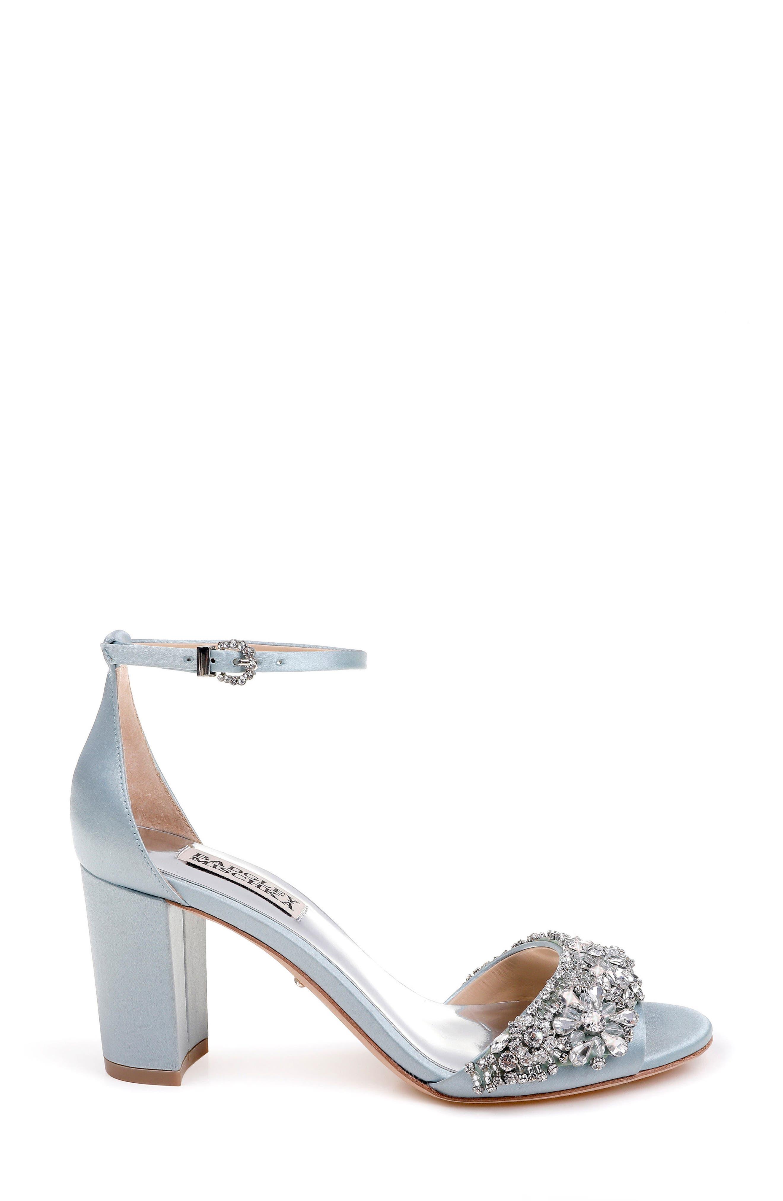 Hines Embellished Block Heel Sandal,                             Alternate thumbnail 14, color,