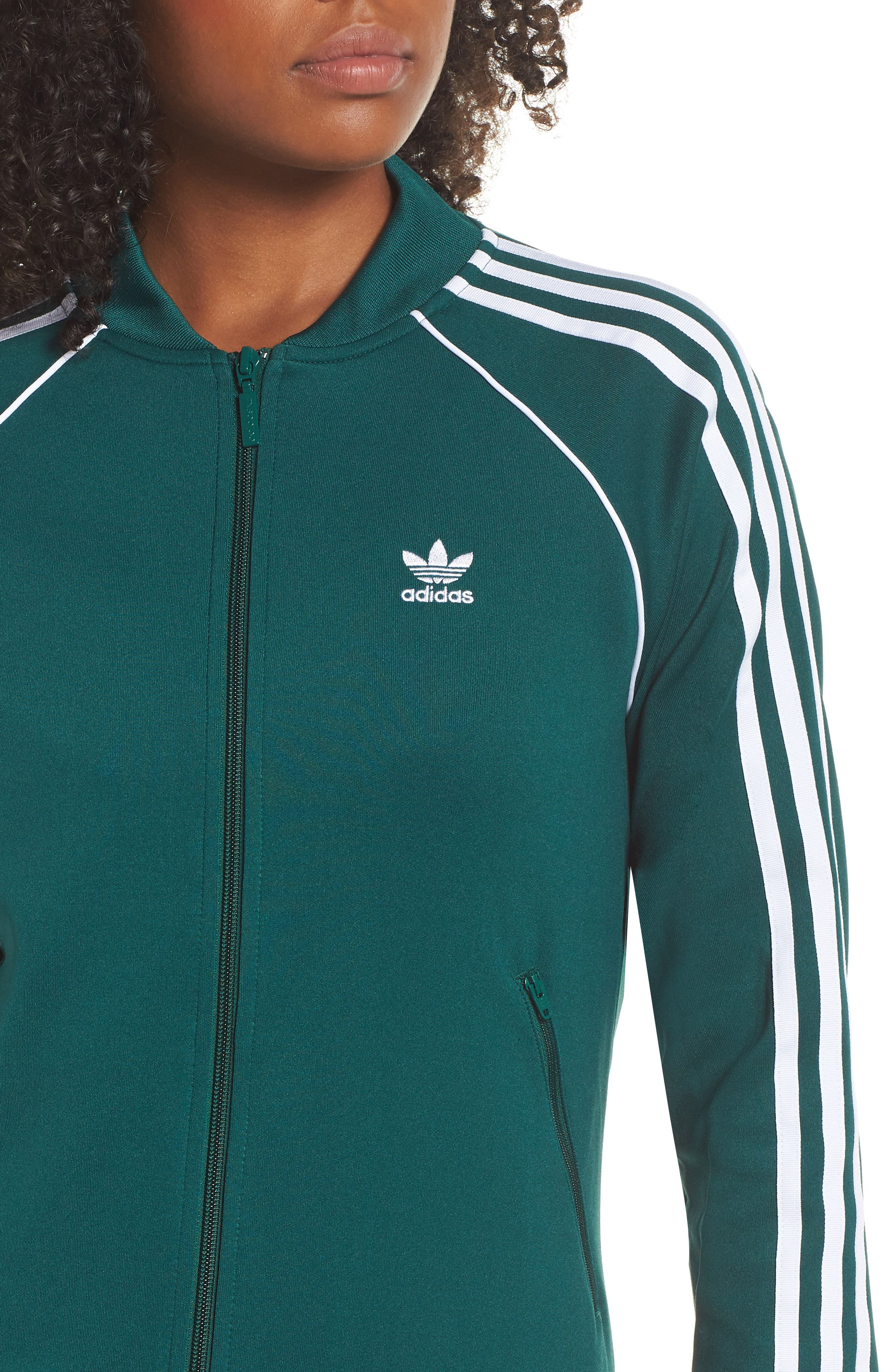 adidas SST Track Jacket,                             Alternate thumbnail 4, color,                             305