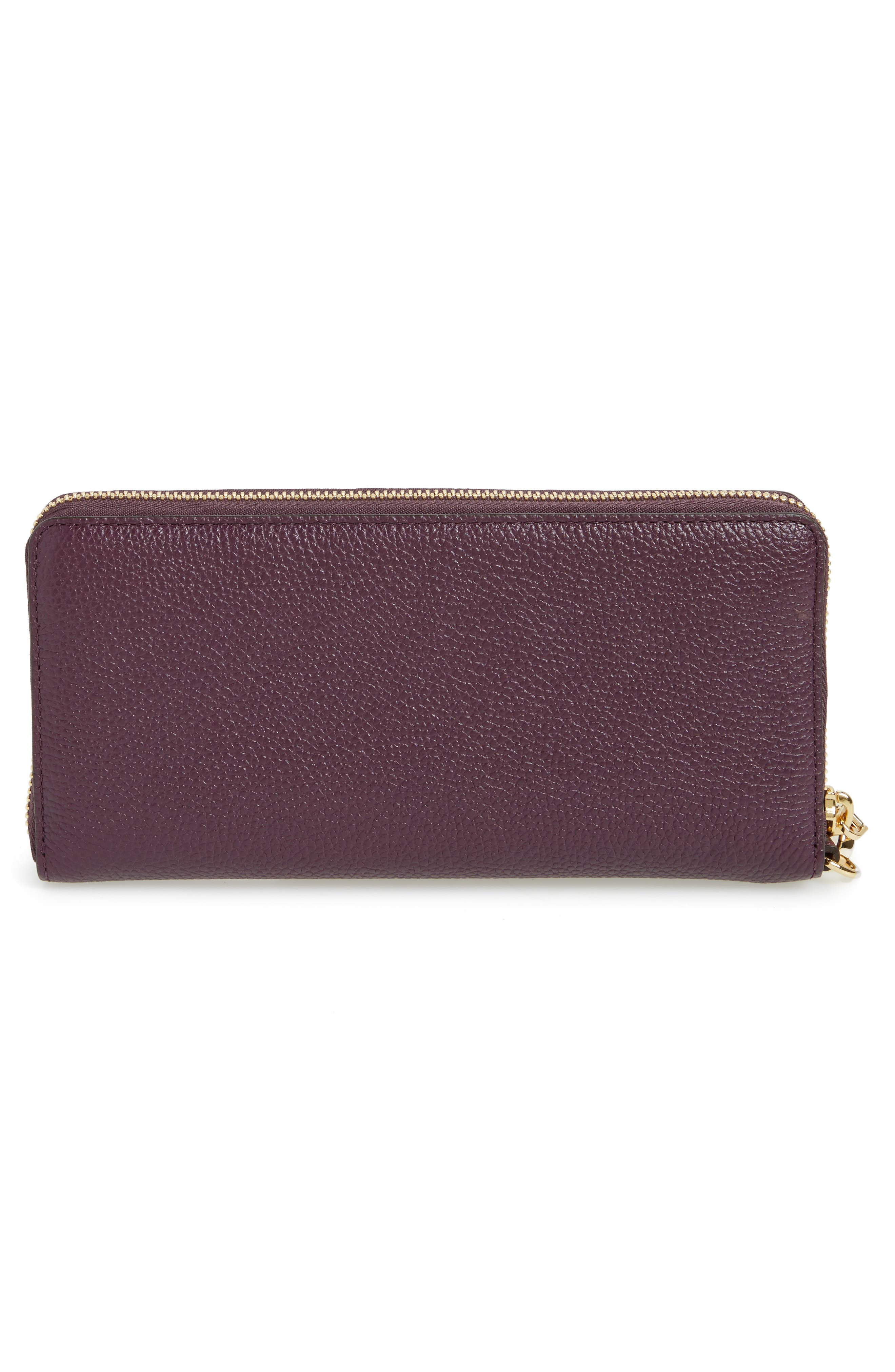 'Mercer' Leather Continental Wallet,                             Alternate thumbnail 3, color,                             599