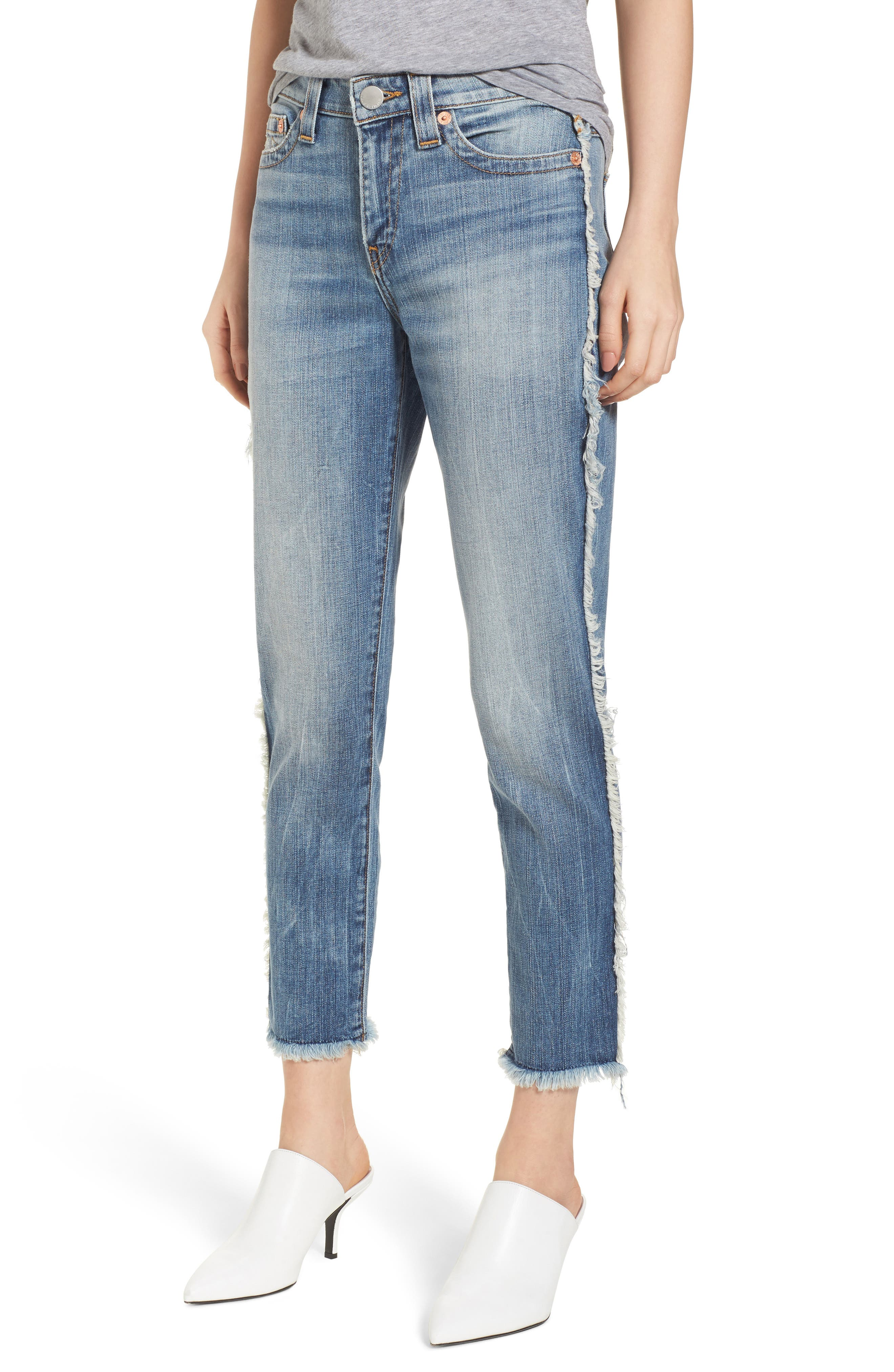 Colette High Waist Tapered Skinny Jeans,                             Main thumbnail 1, color,                             401