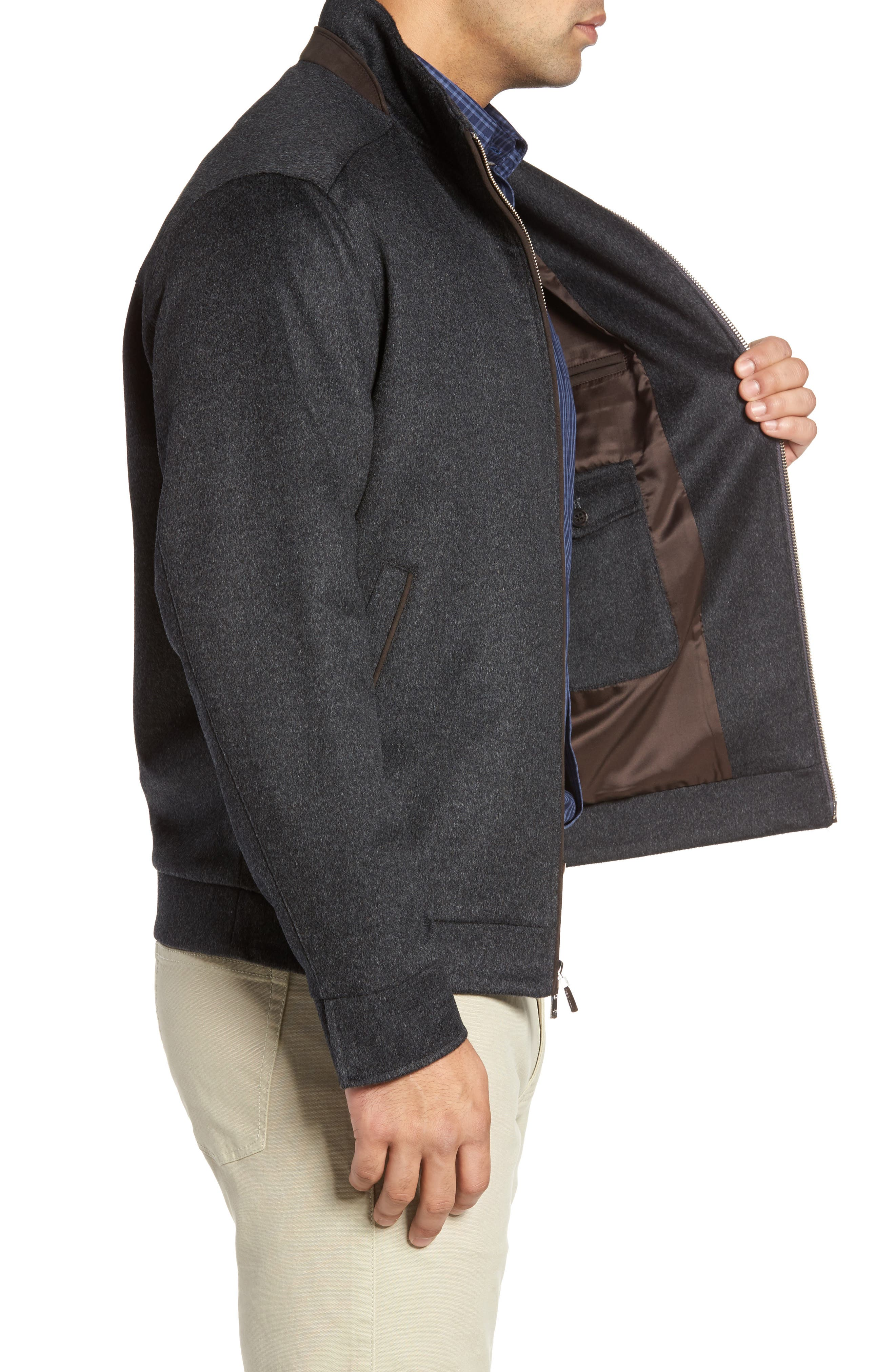 Westport Wool & Cashmere Jacket,                             Alternate thumbnail 8, color,