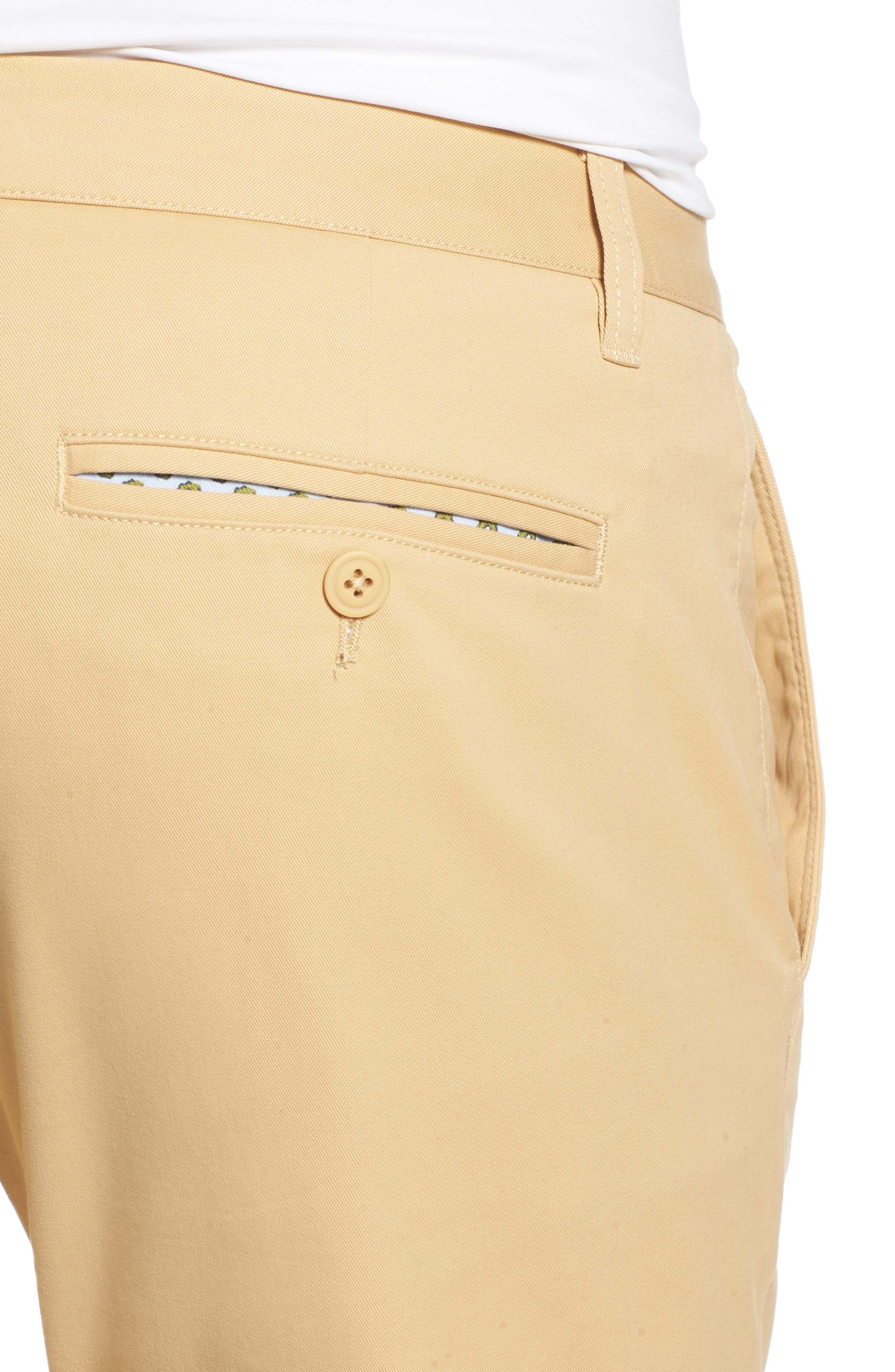 Tailored Fit Washed Stretch Cotton Chinos,                             Alternate thumbnail 111, color,