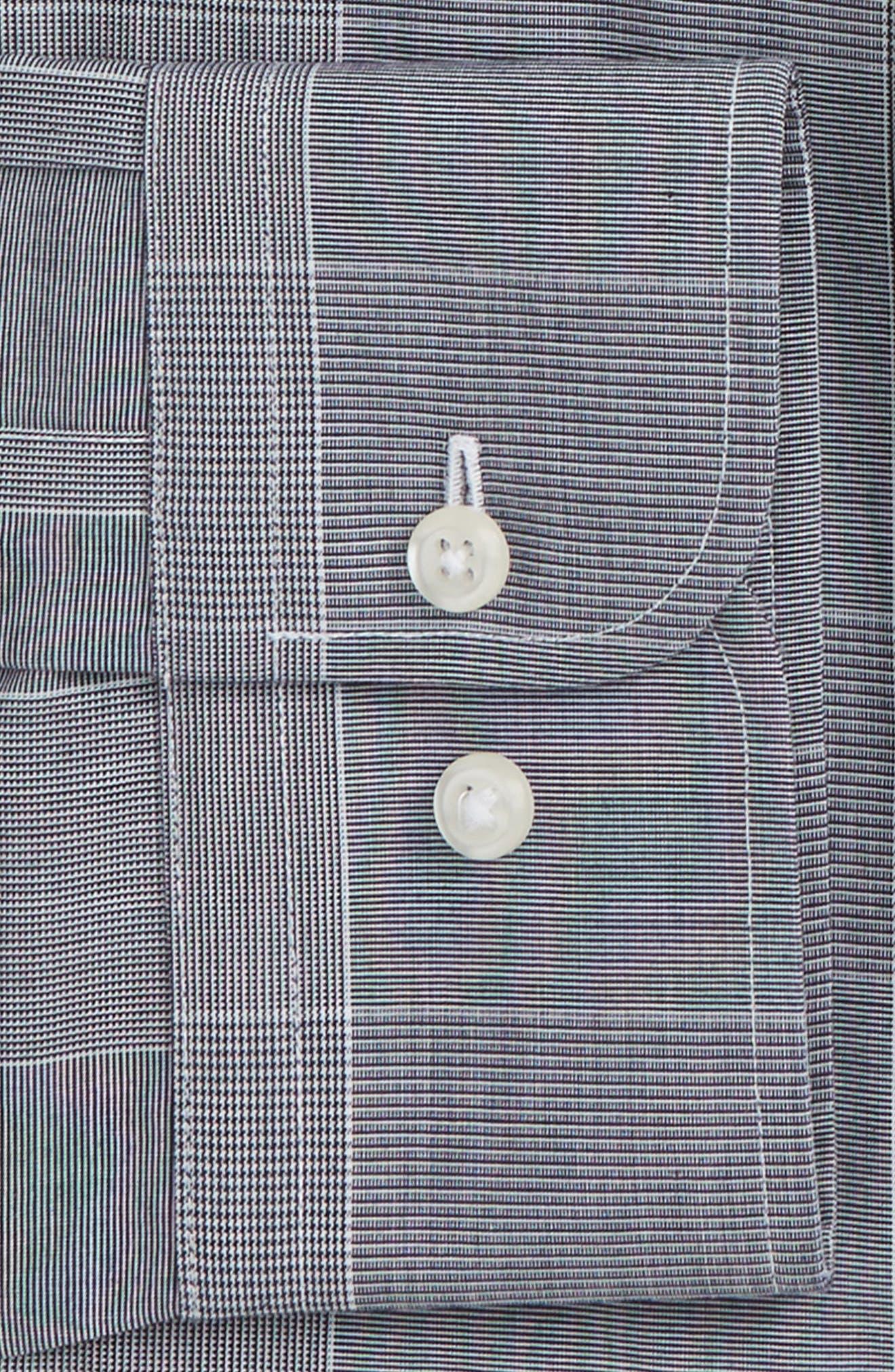 Smartcare<sup>™</sup> Traditional Fit Plaid Dress Shirt,                             Alternate thumbnail 6, color,                             401