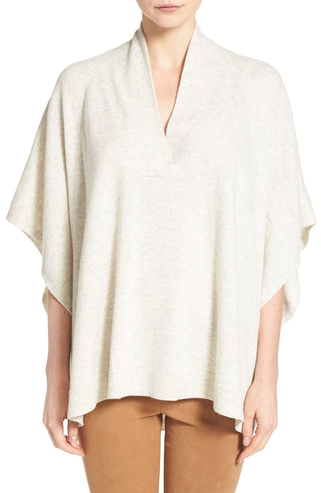 Oversize Short Sleeve Pullover, Main, color, 026