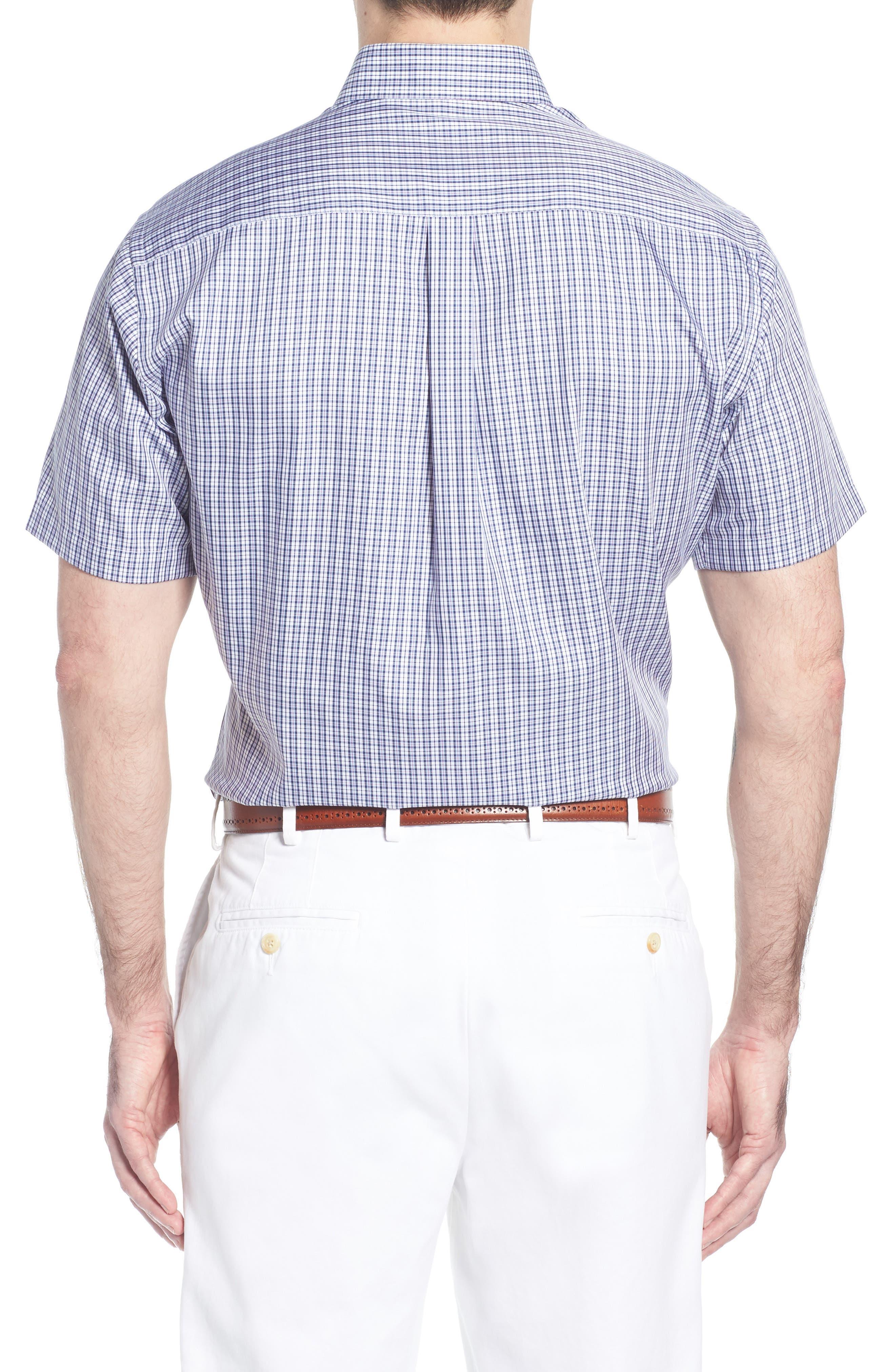 Crown Soft Carlsplaid Regular Fit Sport Shirt,                             Alternate thumbnail 2, color,                             412