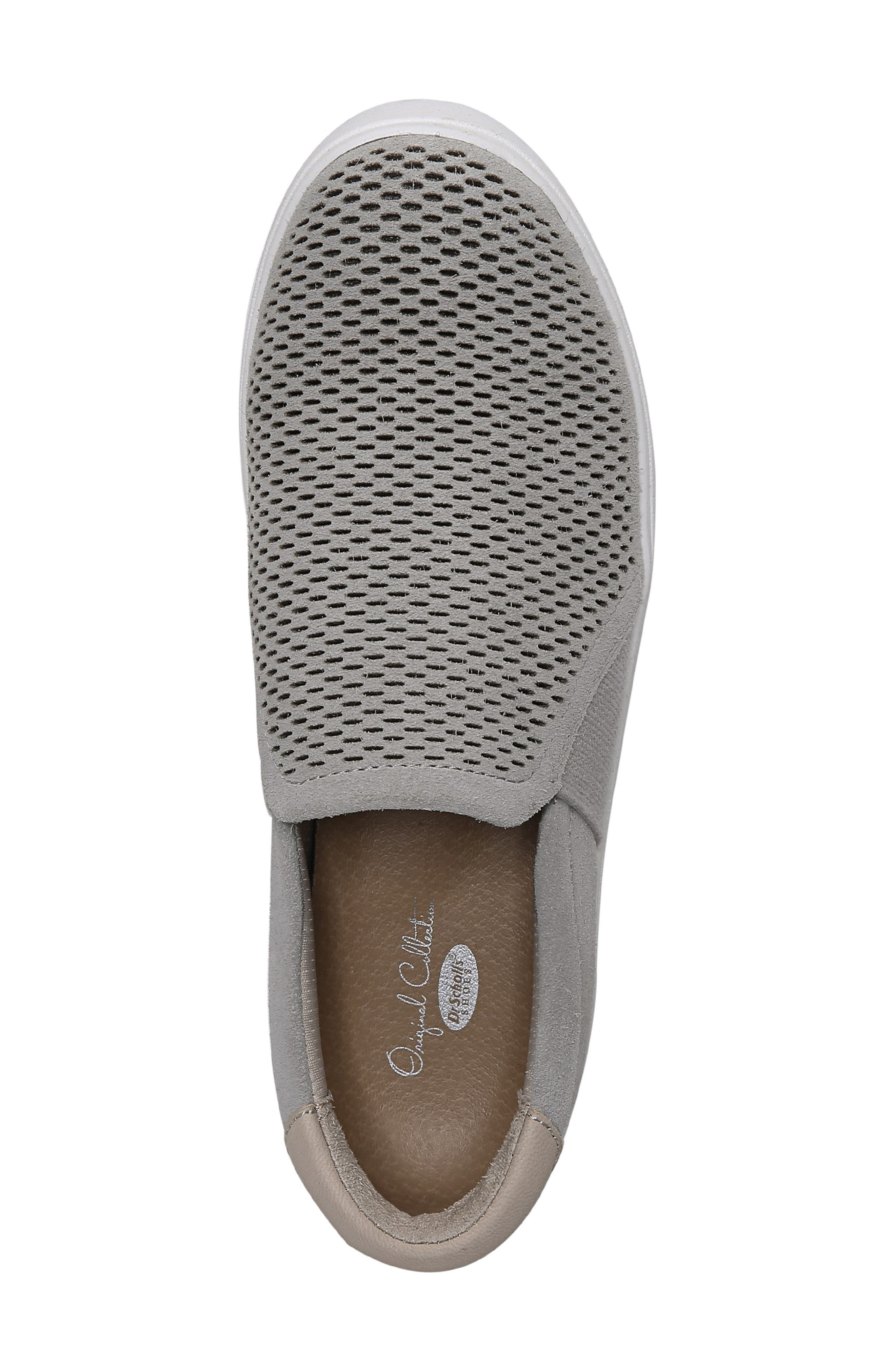 Abbot Lux Sneaker,                             Alternate thumbnail 5, color,                             GREY LEATHER