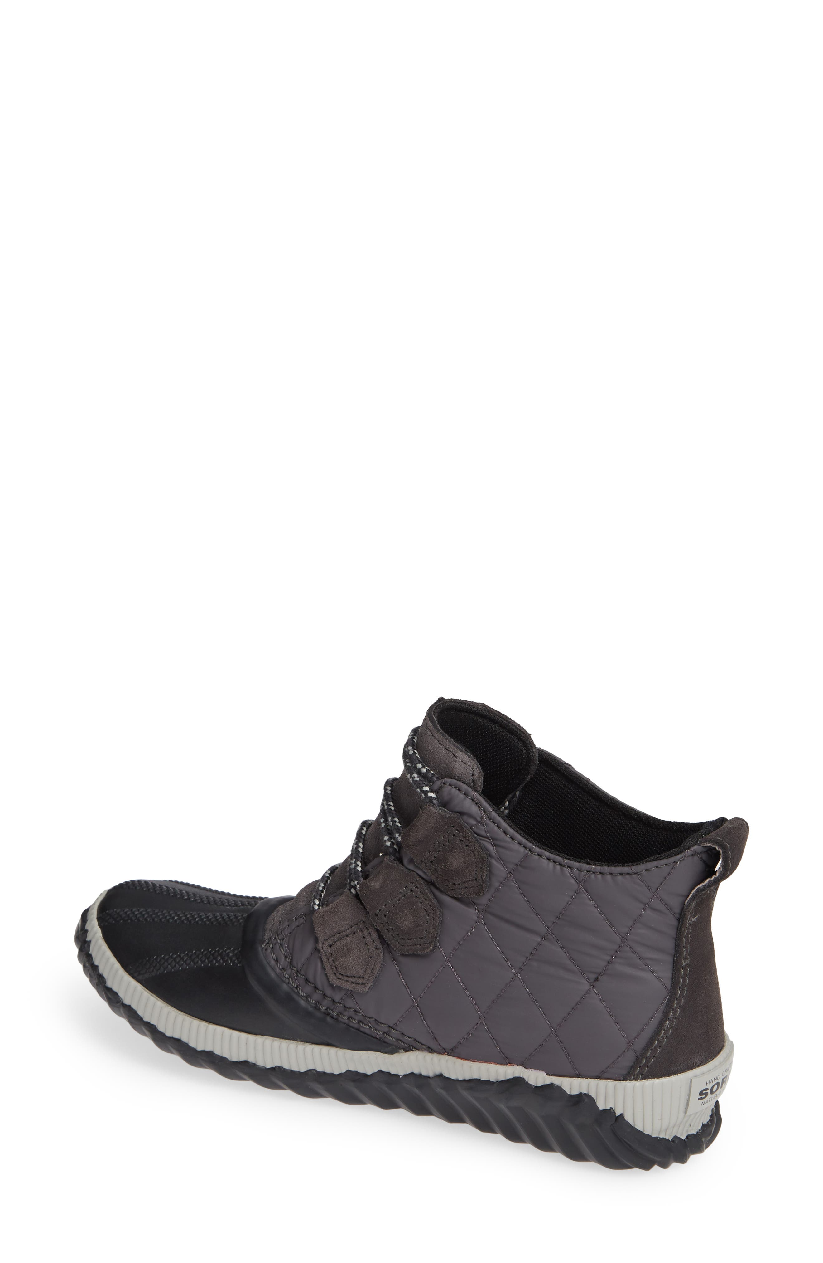 Out N About Plus Camp Waterproof Bootie,                             Alternate thumbnail 2, color,                             SLATE GREY/ BLACK