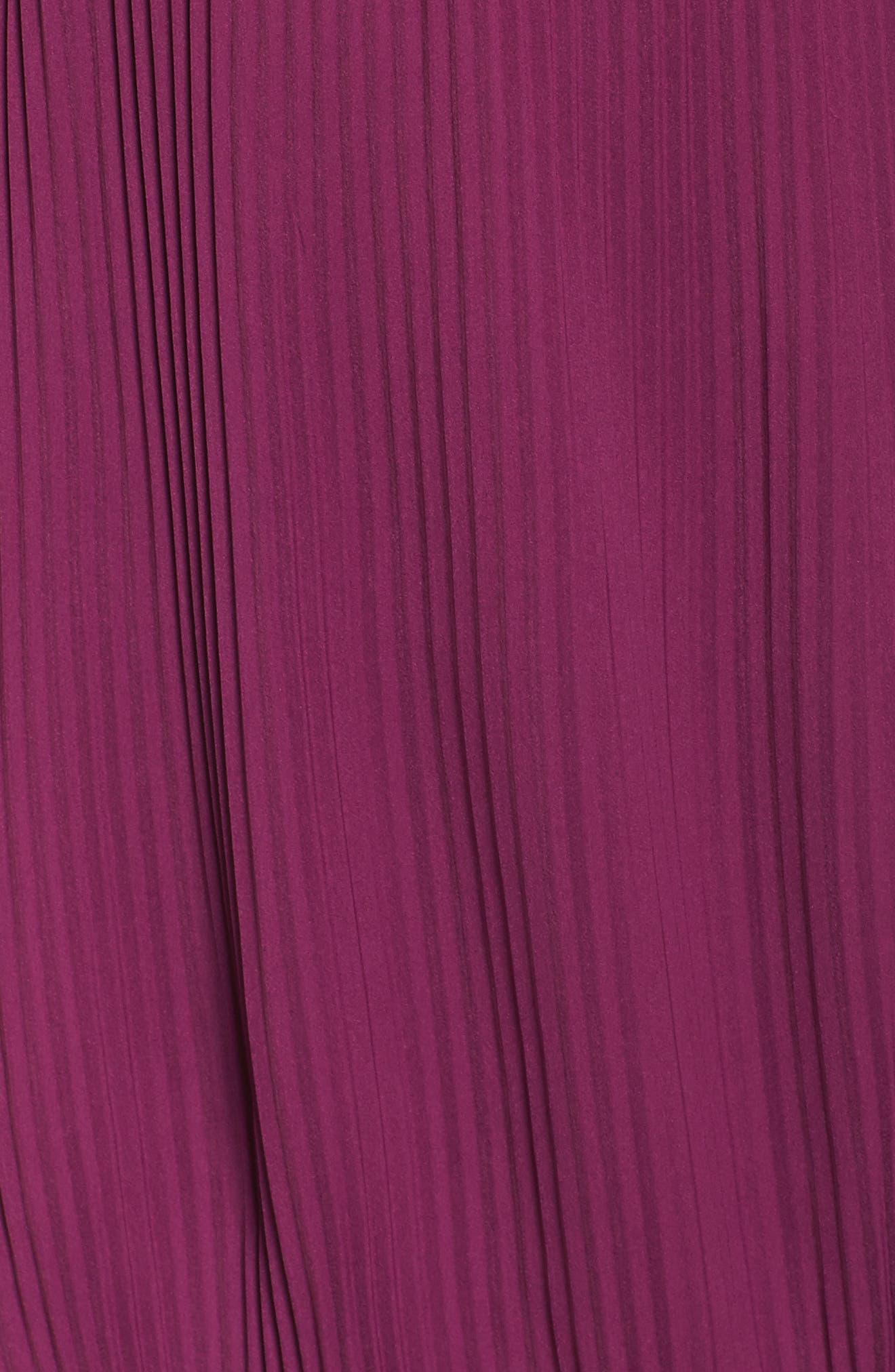 Mademoiselle Ruffle Swing Dress,                             Alternate thumbnail 5, color,