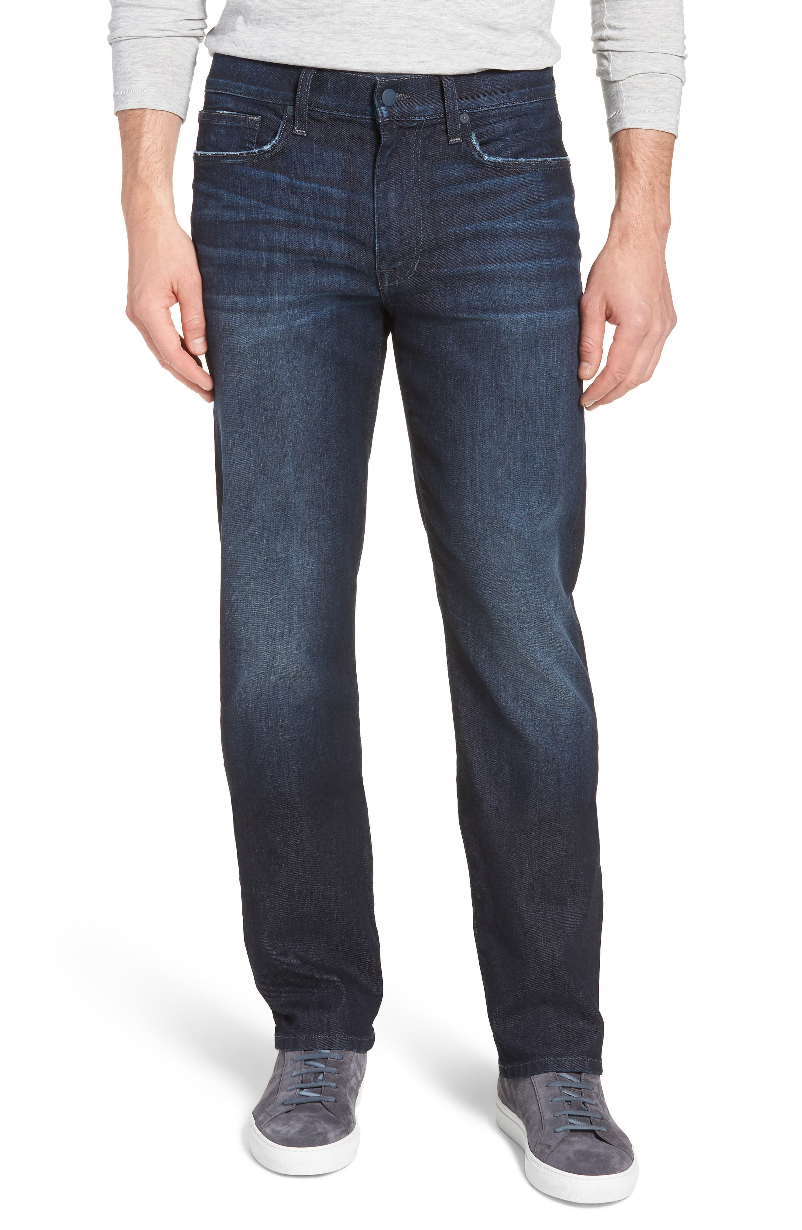 Classic Straight Fit Jeans,                         Main,                         color, LUCAN