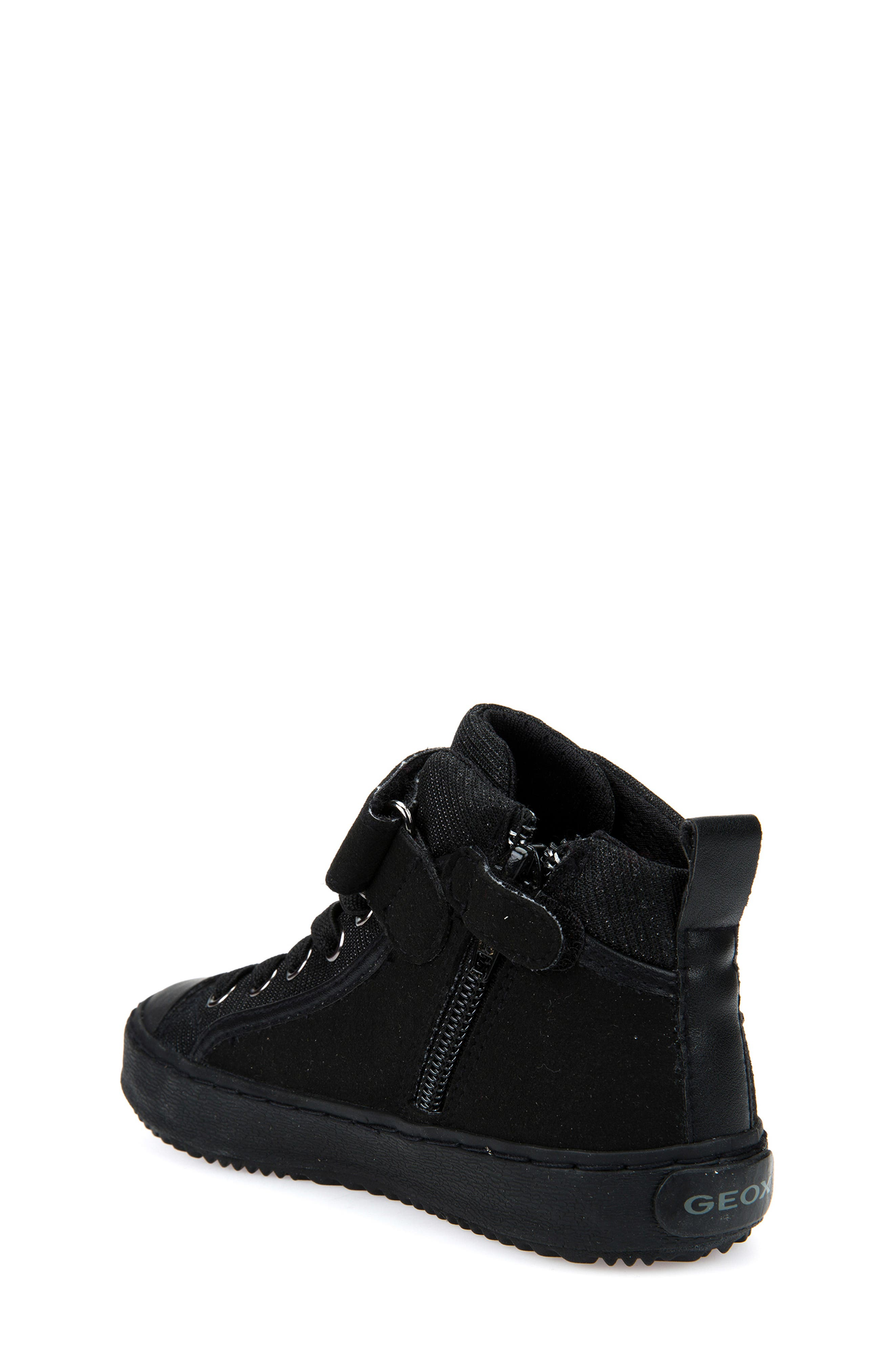 Kalispera High Top Sneaker,                             Alternate thumbnail 2, color,                             BLACK