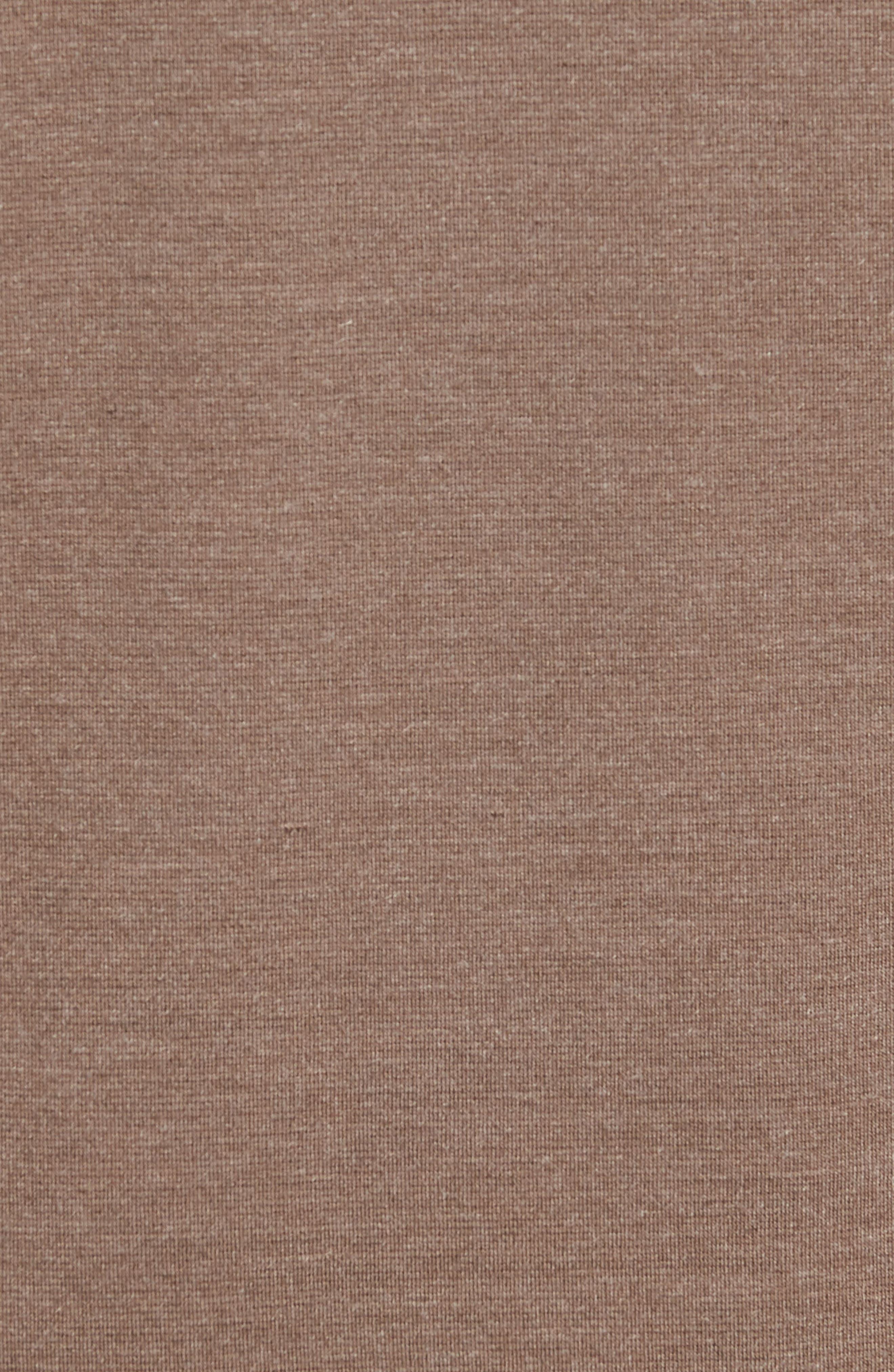 Mercer Quarter Zip Performance Pullover,                             Alternate thumbnail 5, color,                             TAUPE