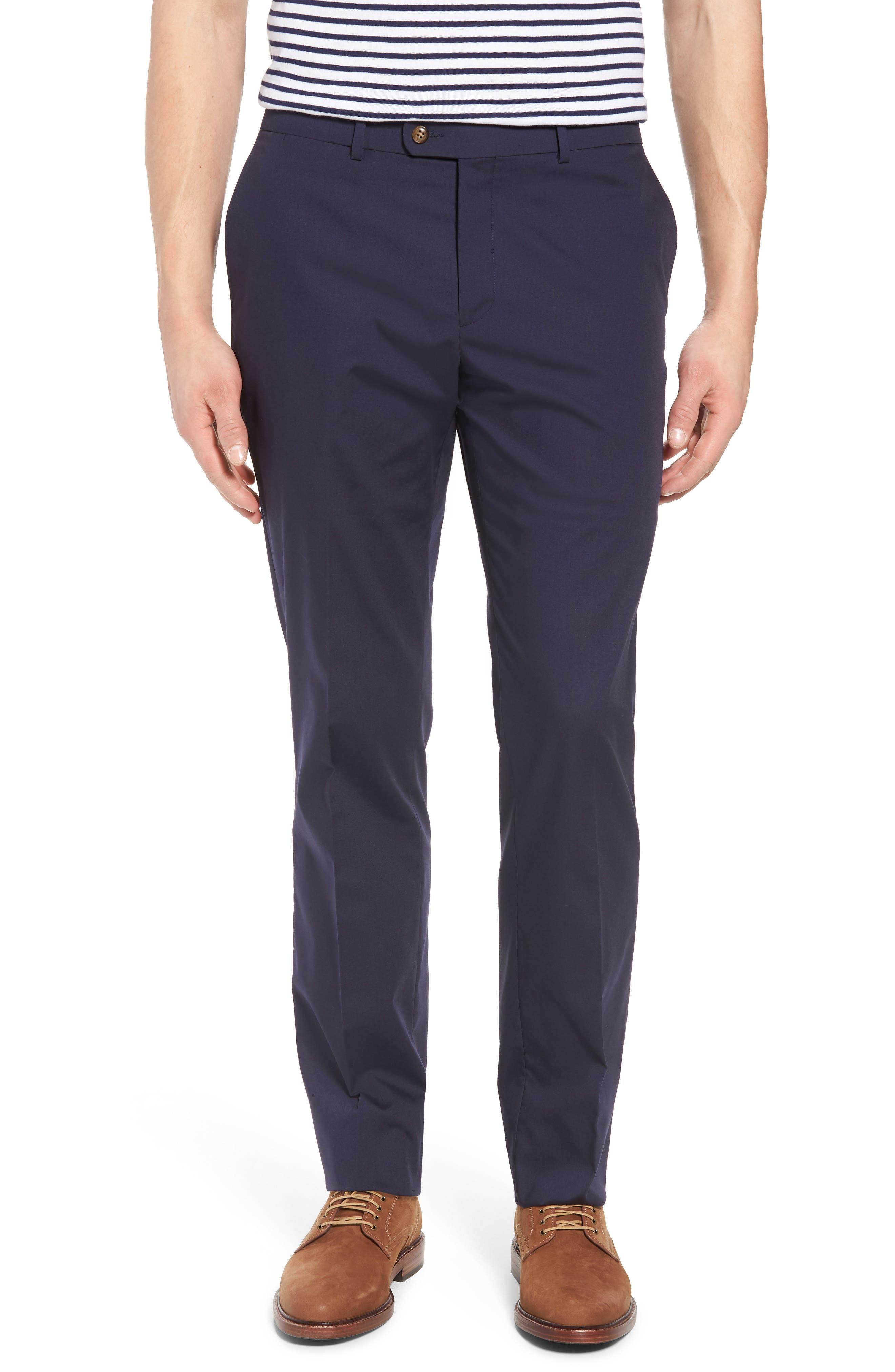 Irons AIM Classic Fit Solid Cotton Blend Suit,                             Alternate thumbnail 6, color,                             410