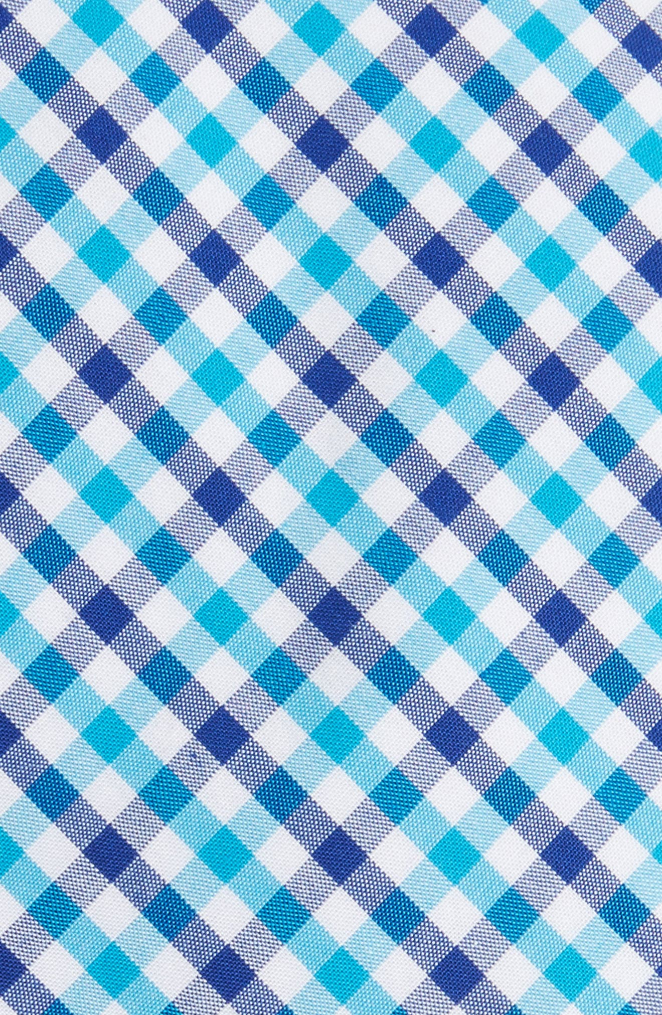 Robin Diamond Check Skinny Tie,                             Alternate thumbnail 7, color,