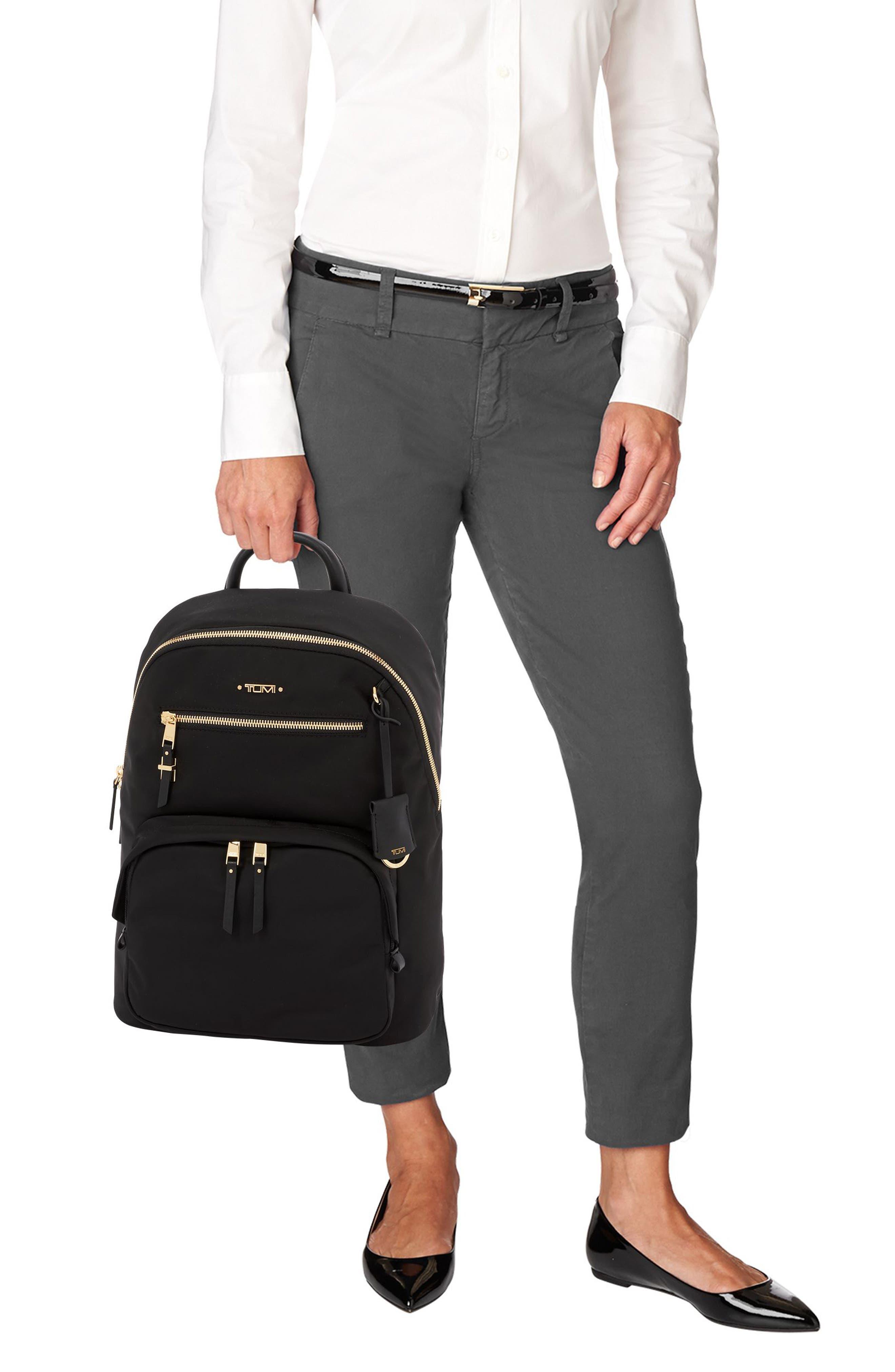 Voyageur Hagen Nylon Backpack,                             Alternate thumbnail 2, color,                             BLACK