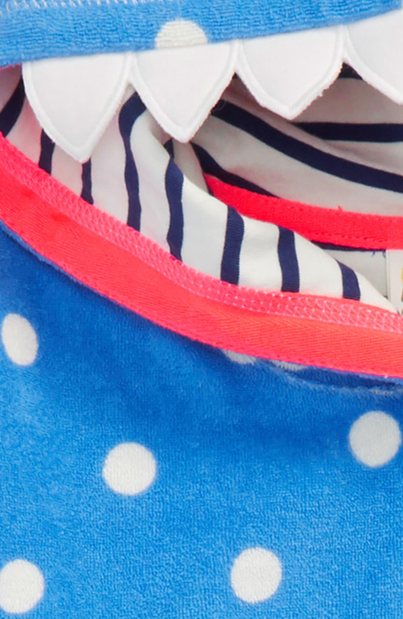 Toweling Appliqué Beach Dress,                             Alternate thumbnail 2, color,                             424