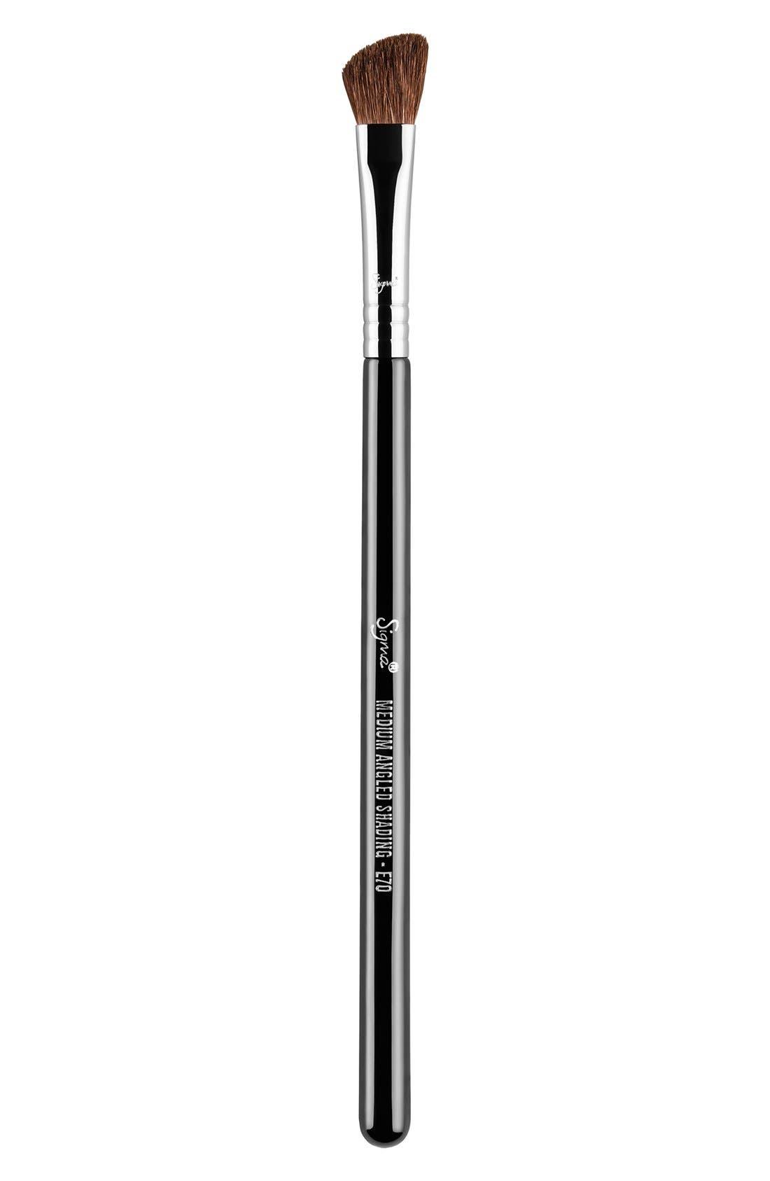 E70 Medium Angled Shading Brush,                             Main thumbnail 1, color,                             NO COLOR