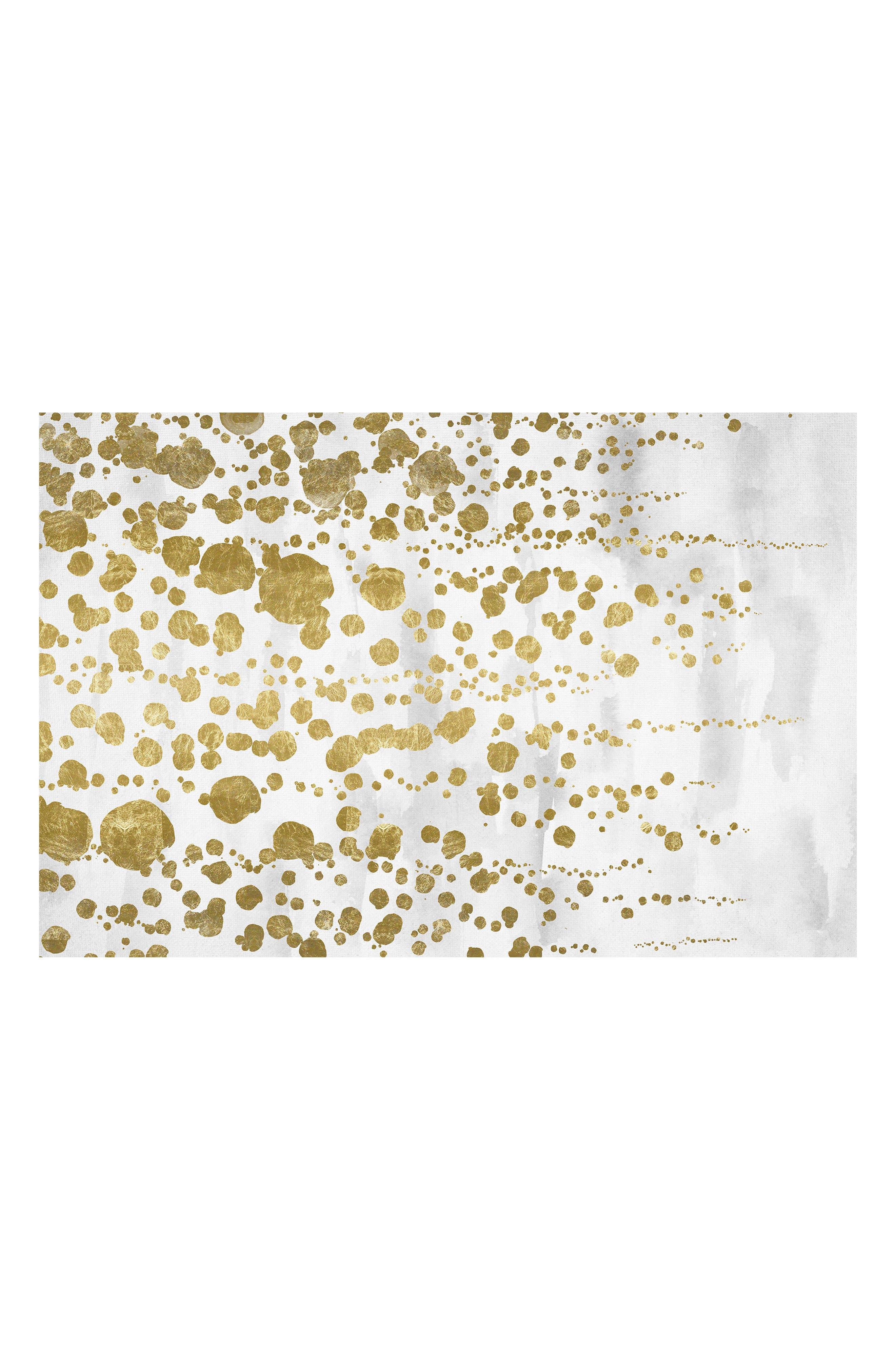 Wynwood Gradual Gold Canvas Wall Art,                         Main,                         color,