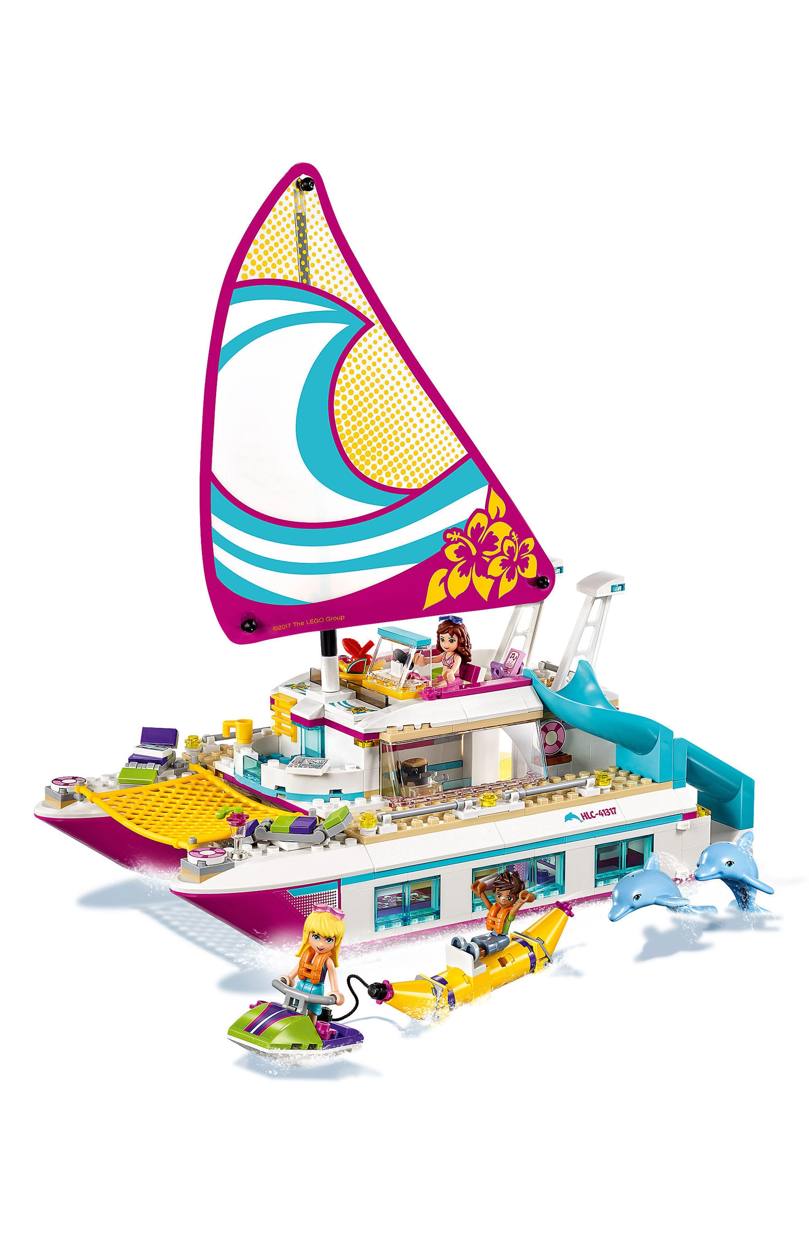 Sunshine Catamaran Play Set - 41317,                             Alternate thumbnail 4, color,                             650