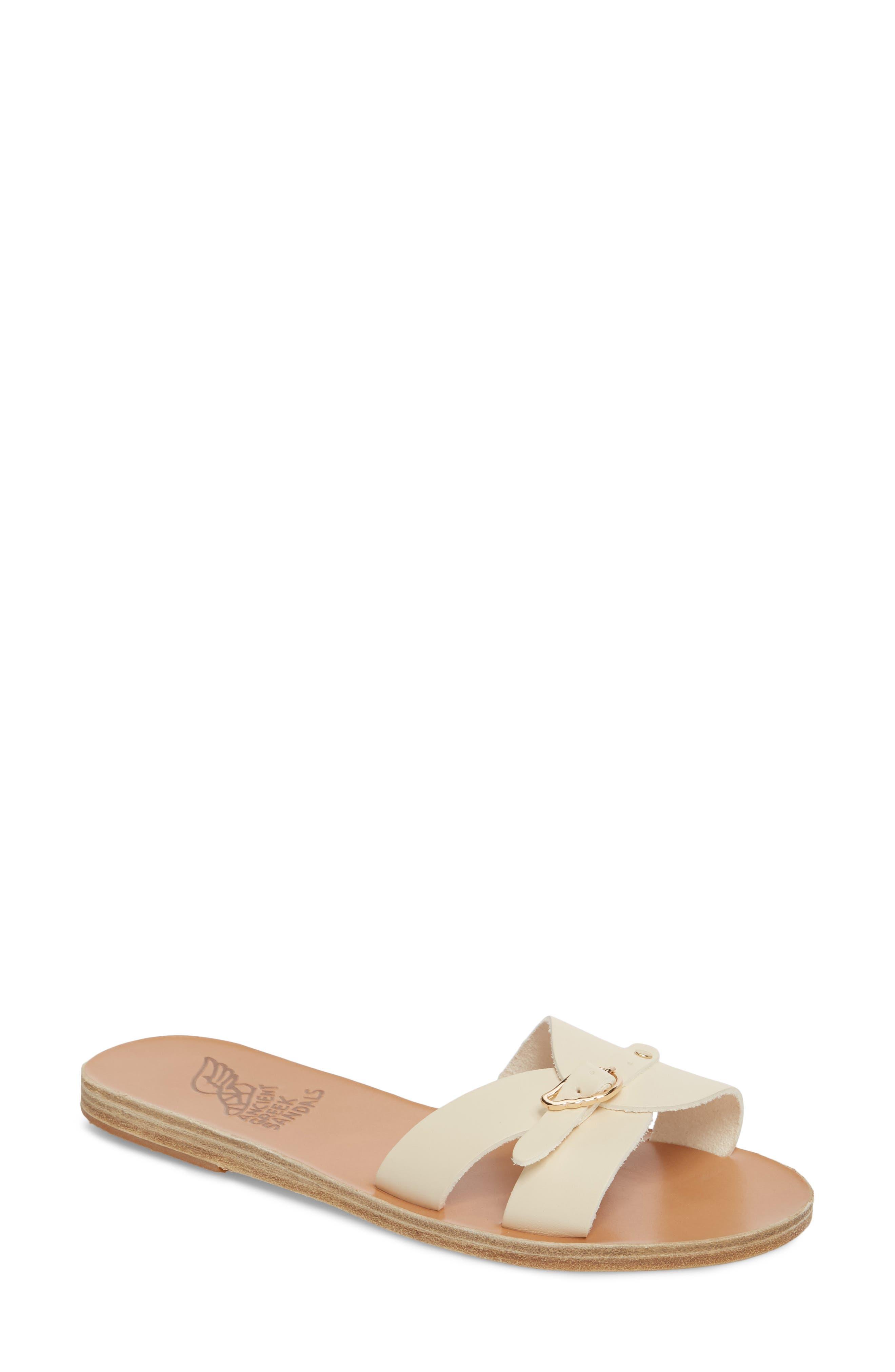 Ancient Greek Sandals Anna Sandal, Ivory