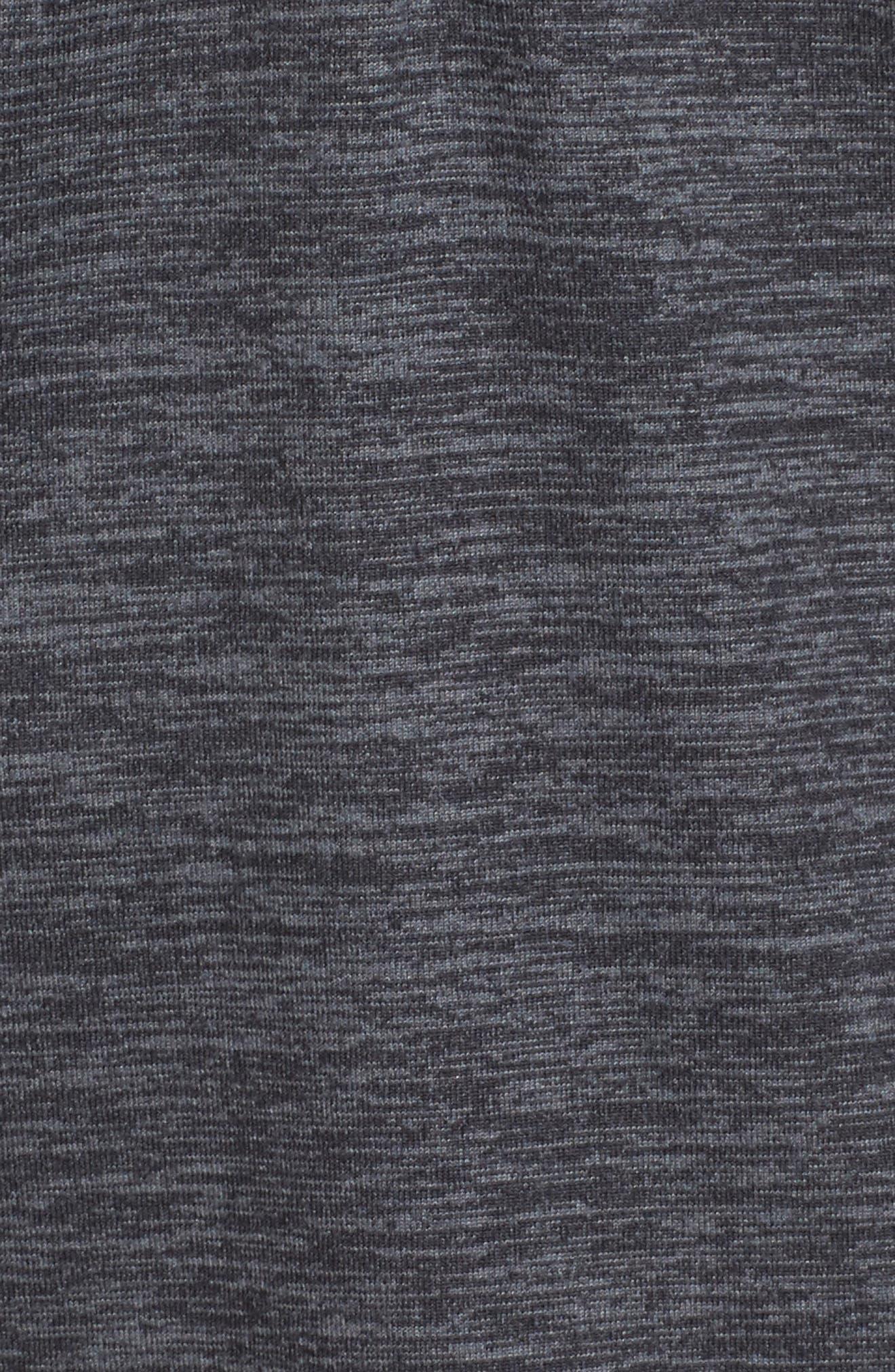 'Dash' Half Zip Jacket,                             Alternate thumbnail 7, color,                             HEATHER ASPHALT
