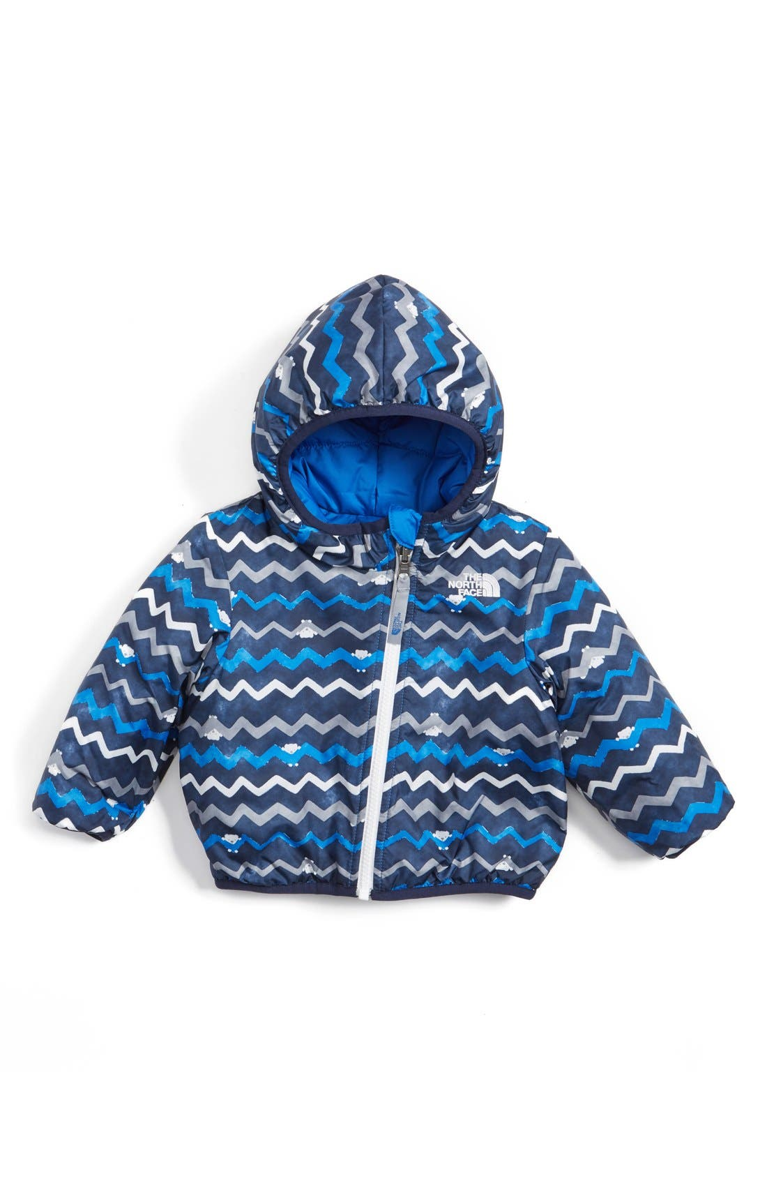'Perrito' Reversible Water Repellent Hooded Jacket,                             Main thumbnail 3, color,