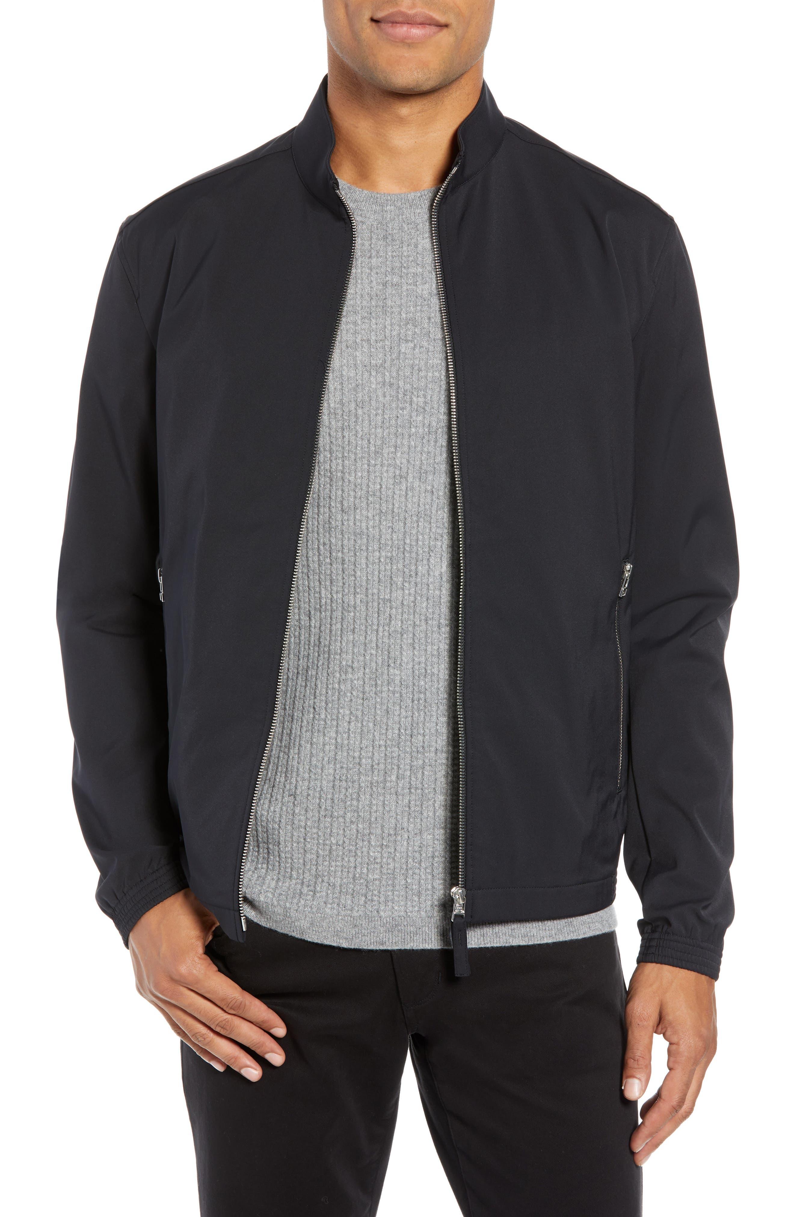 Tremont Neoteric Regular Fit Jacket,                             Main thumbnail 1, color,                             BLACK