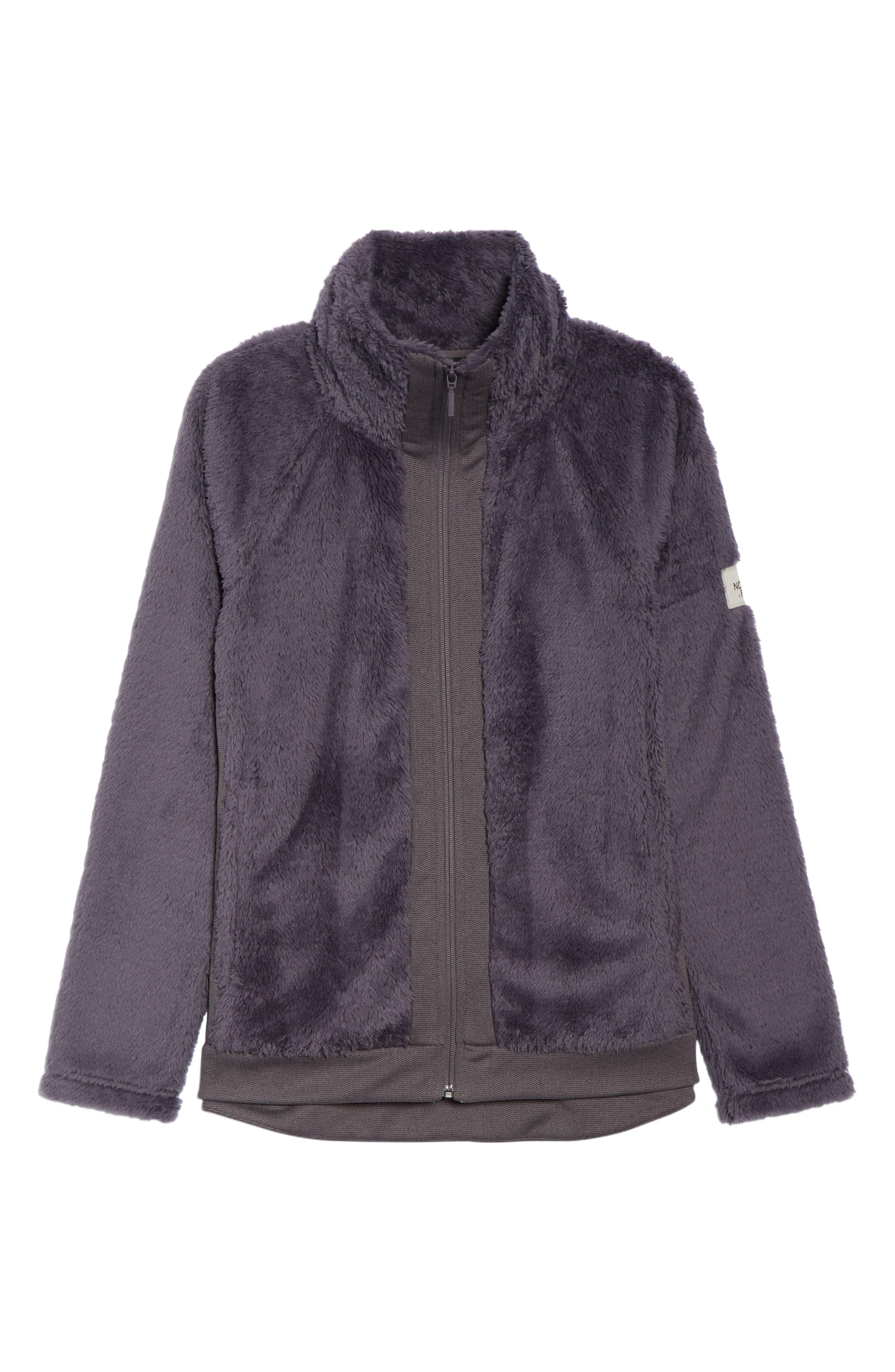 Furry Fleece Jacket,                             Alternate thumbnail 6, color,                             021