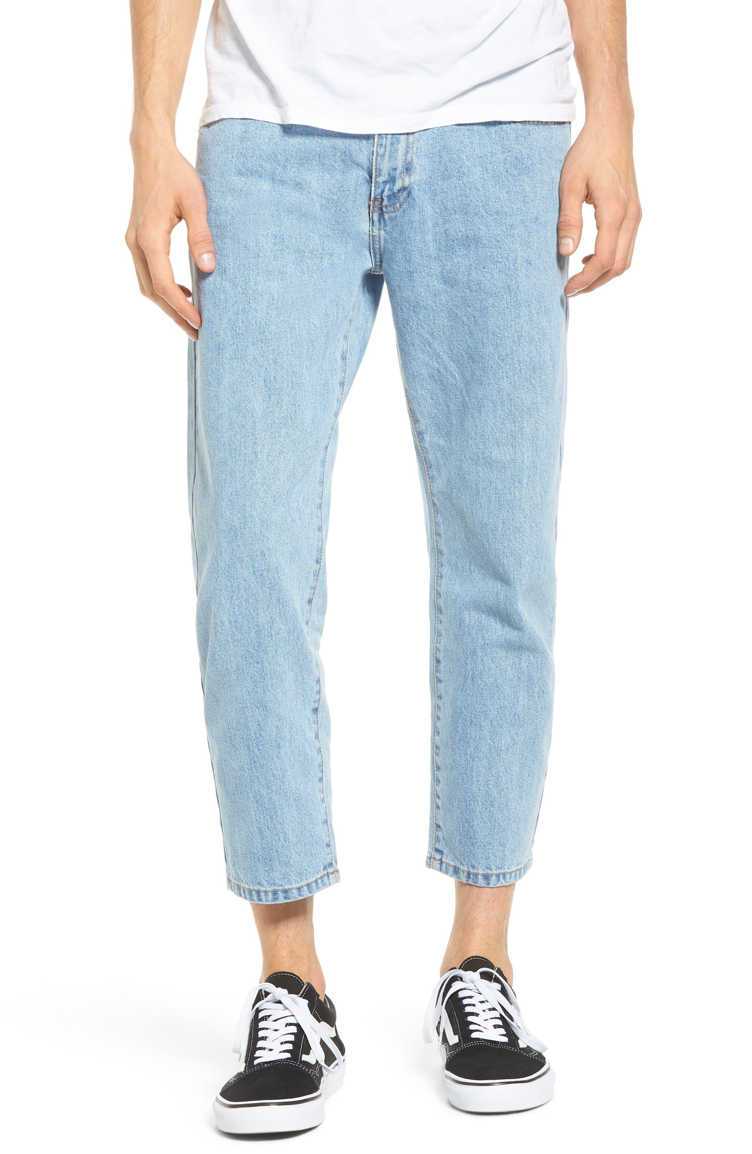 Otis Straight Fit Jeans,                         Main,                         color, 400