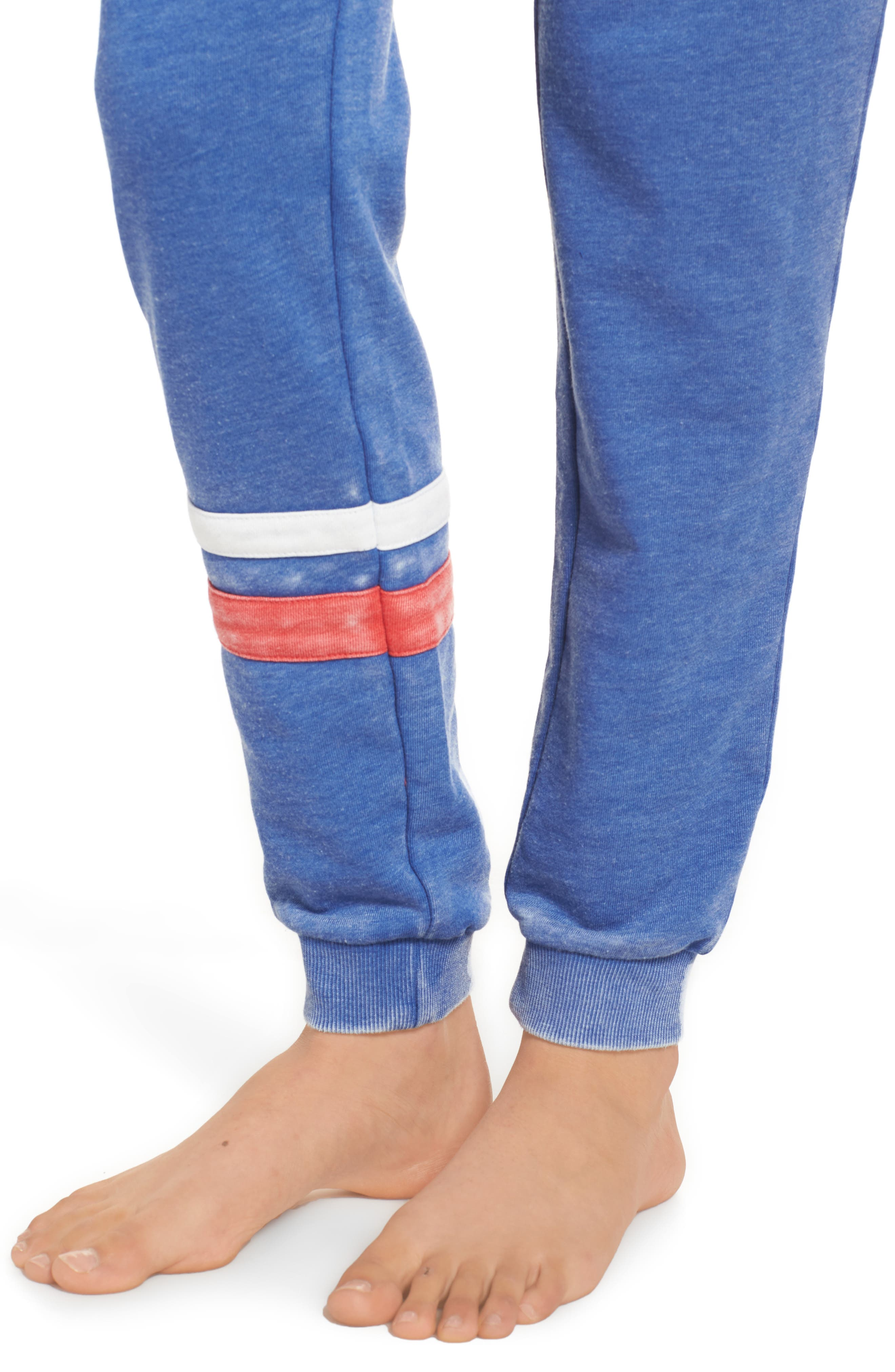 Long Weekend Lounge Jogger Pants,                             Alternate thumbnail 4, color,                             400