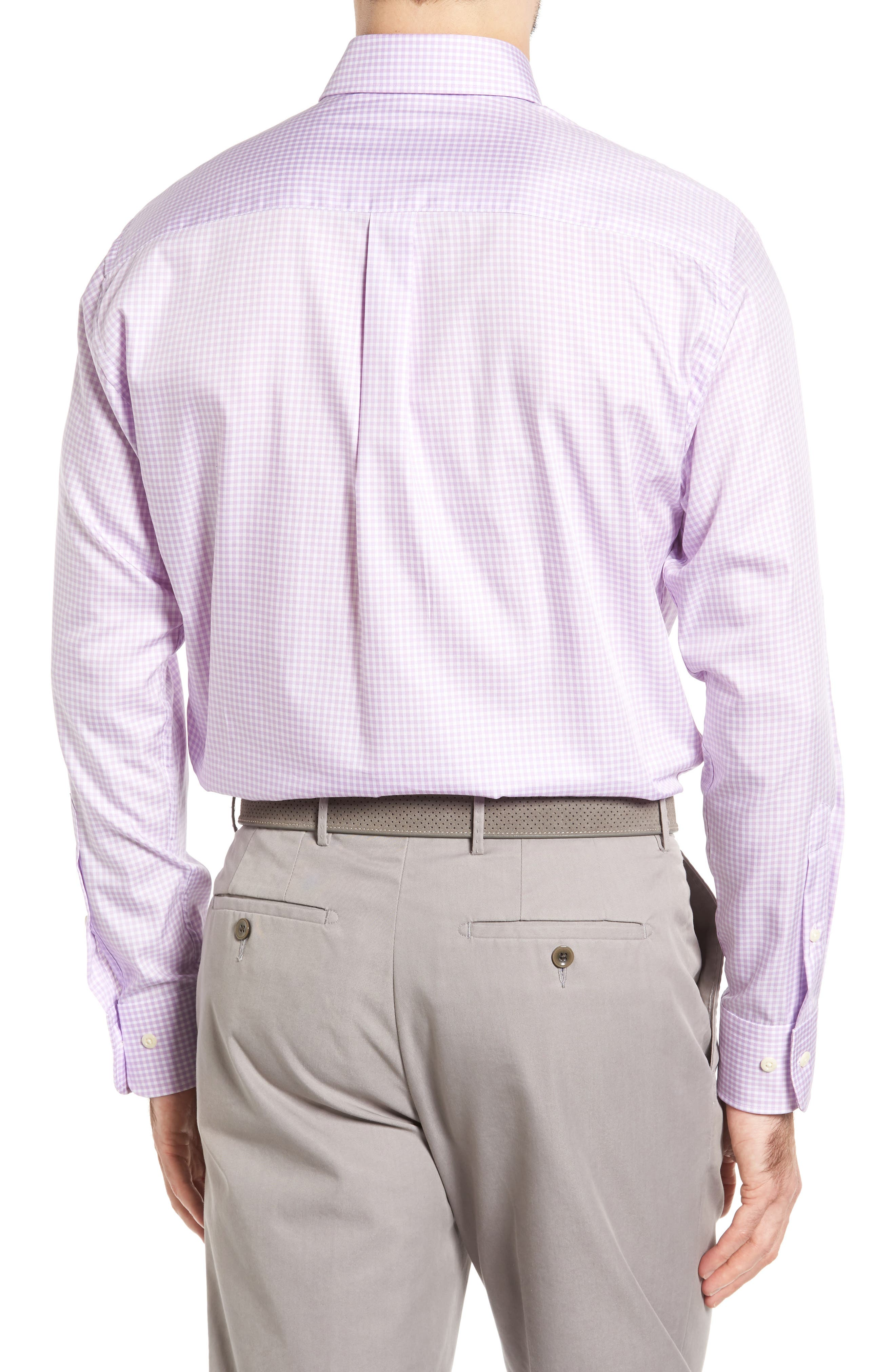 Crown Soft Gingham Regular Fit Sport Shirt,                             Alternate thumbnail 12, color,