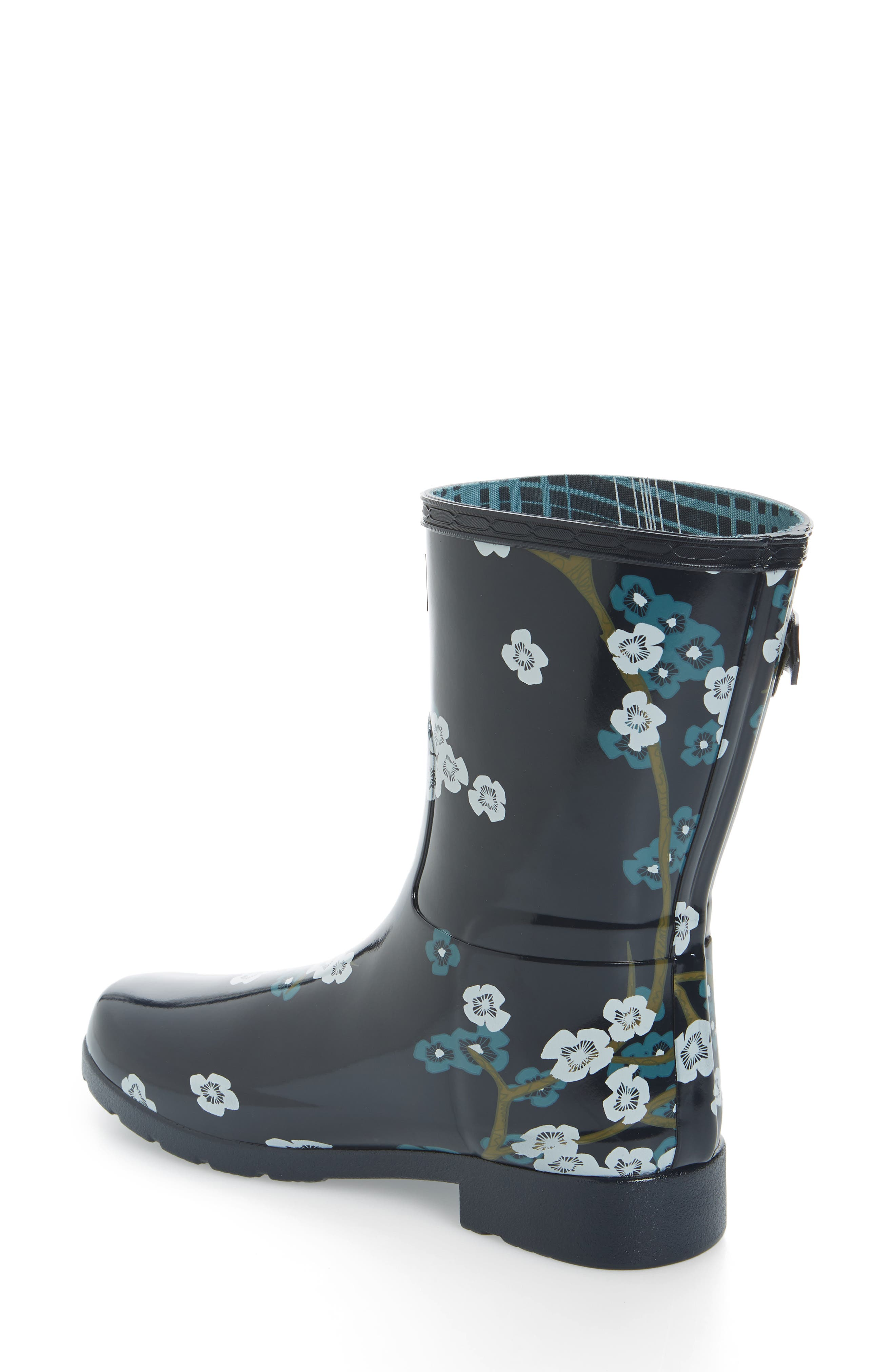 Original Refined Blossom Print Rain Boot,                             Alternate thumbnail 2, color,                             400